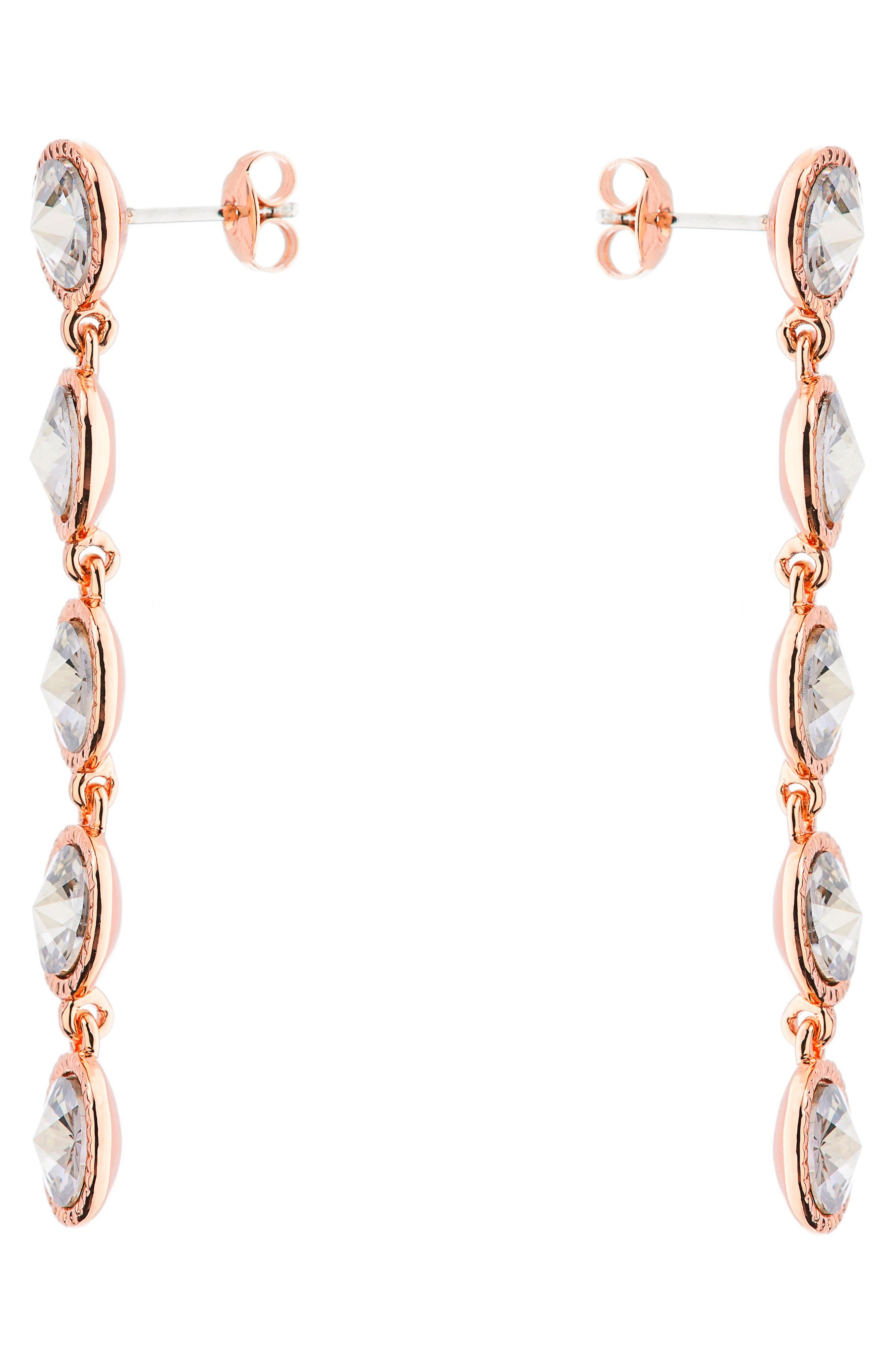 Alternate Image 2  - Ted Baker London Rizza Crystal Drop Earrings