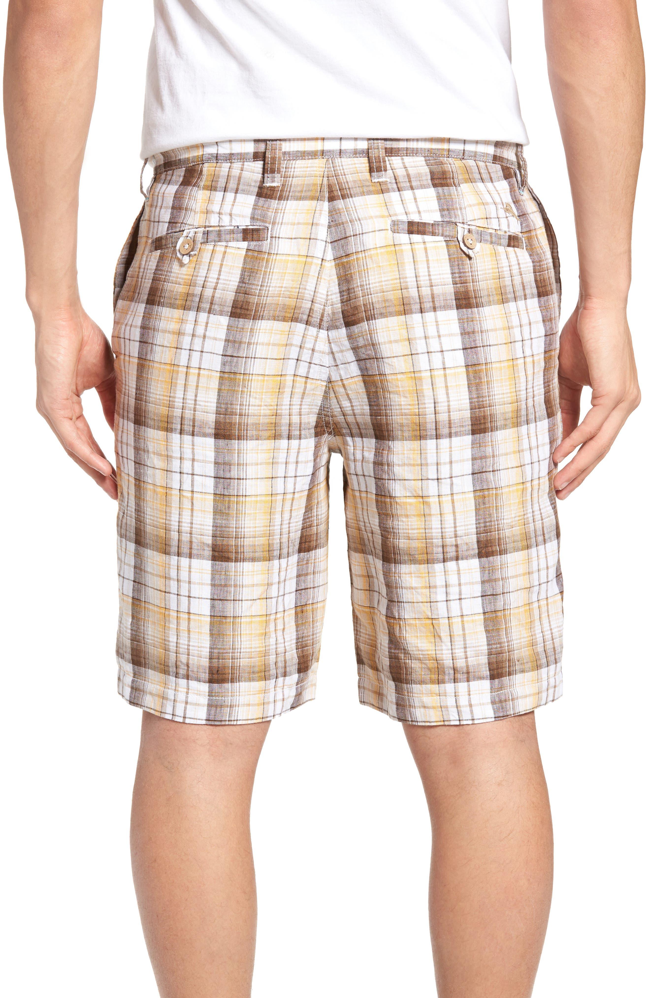 Alternate Image 2  - Tommy Bahama Island Duo Reversible Linen Shorts
