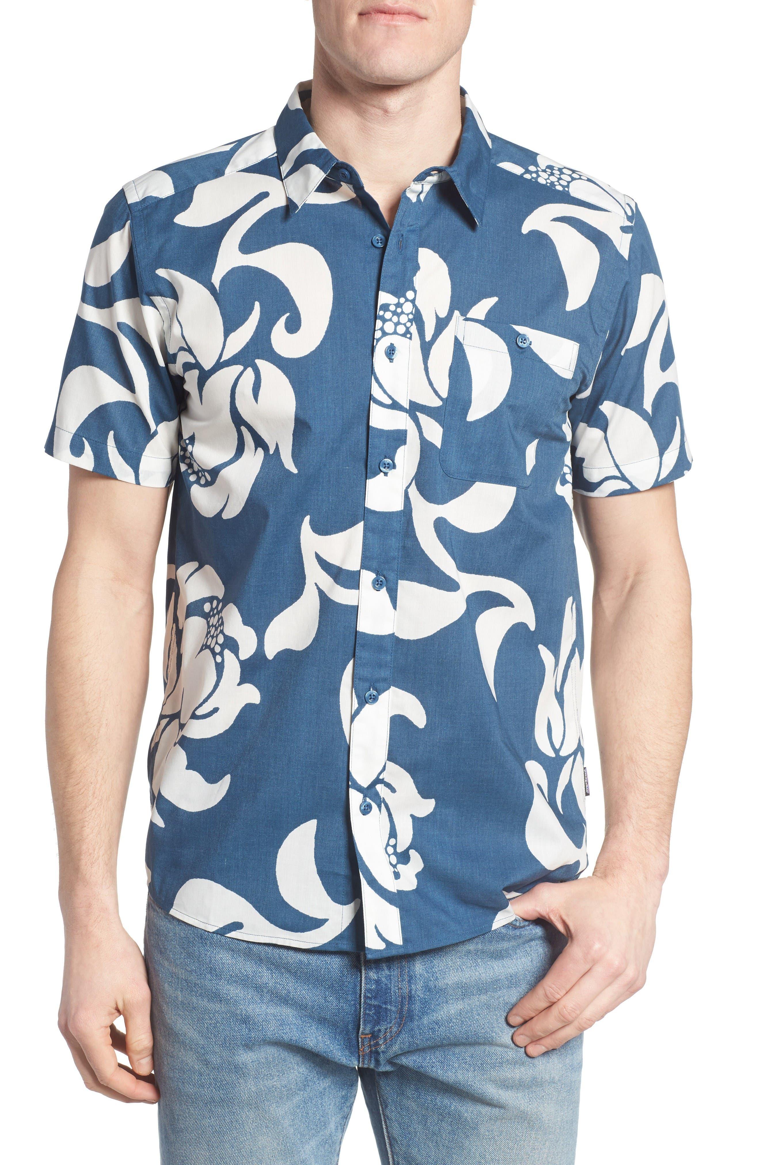 Main Image - Patagonia 'Go To' Slim Fit Short Sleeve Sport Shirt
