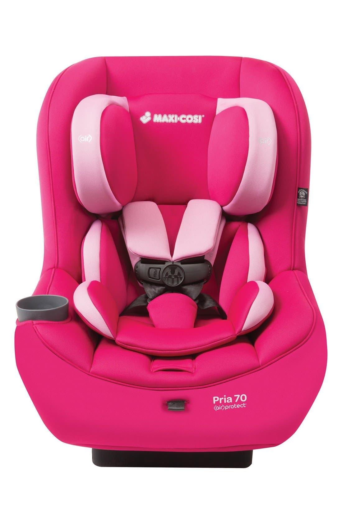 Pria<sup>™</sup> 70 Infant & Toddler Convertible Car Seat,                         Main,                         color, Sweet Cerise