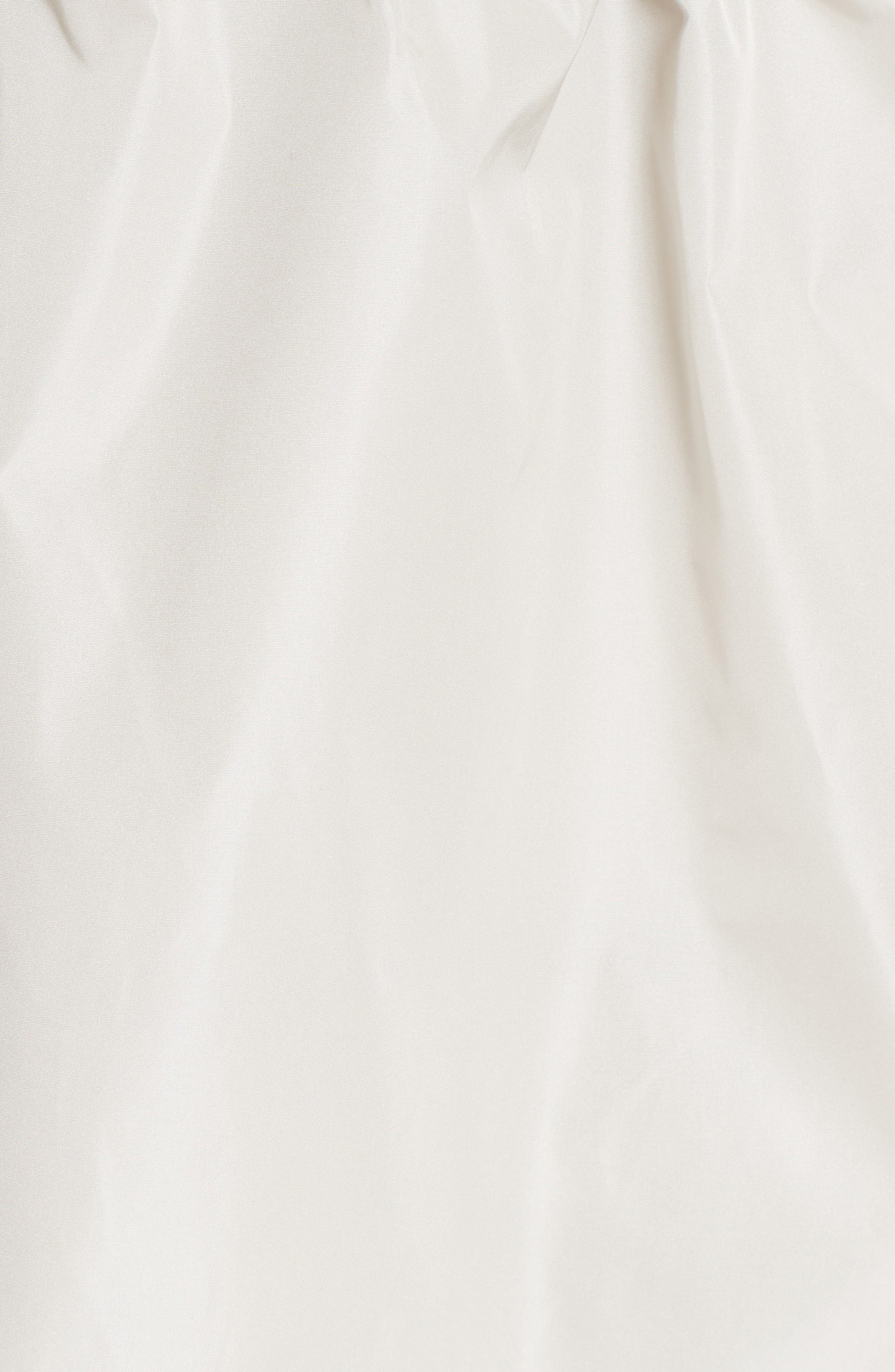 Alternate Image 3  - Moncler Lotus Water Resistant Peplum Raincoat