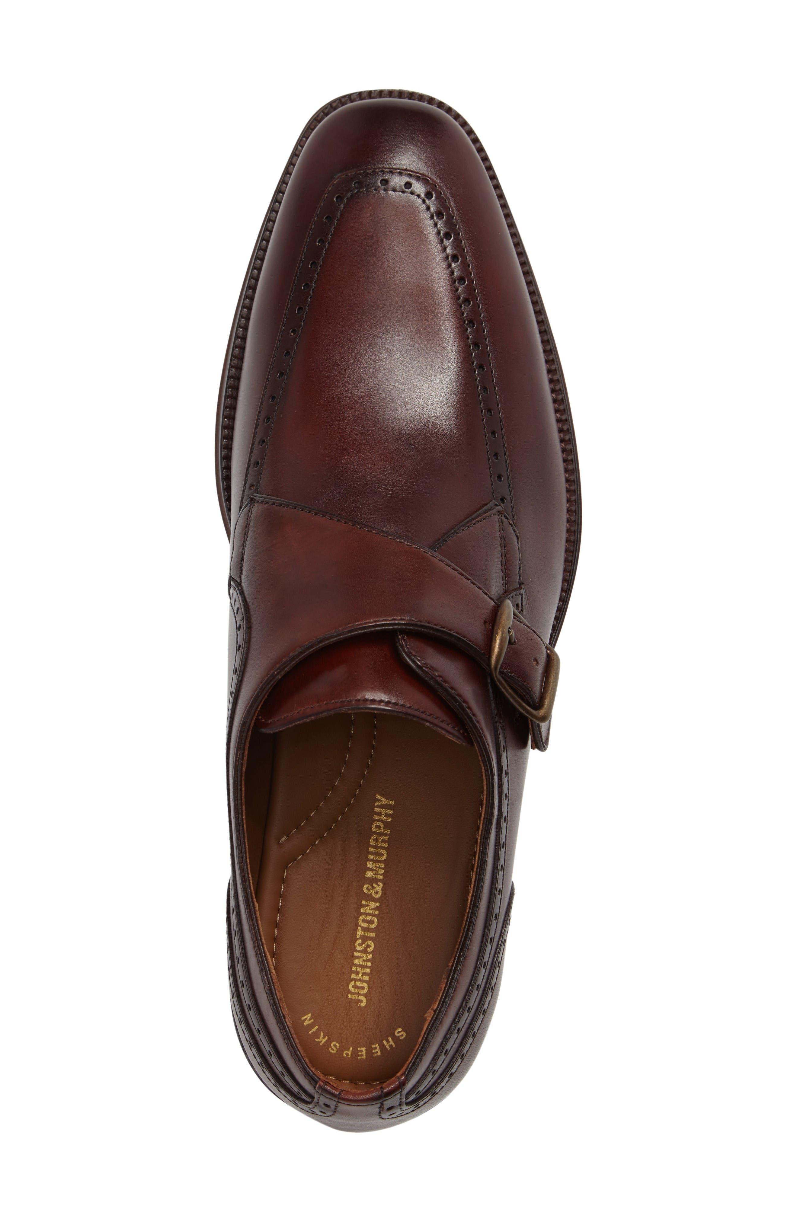 Alternate Image 5  - Johnston & Murphy Boydstun Monk Strap Shoe (Men)