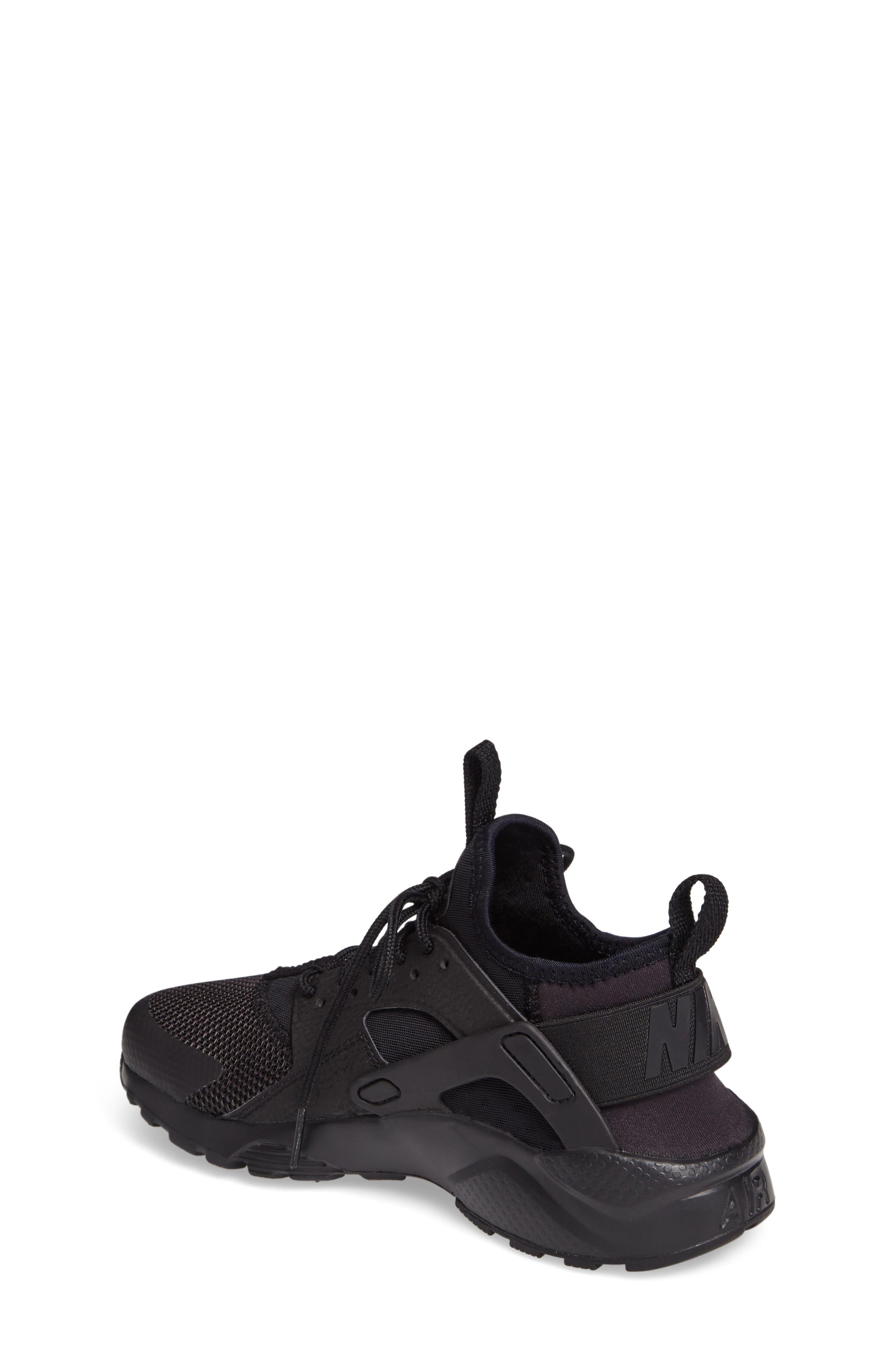 Alternate Image 2  - Nike Air Huarache Run Ultra Sneaker (Big Kid)