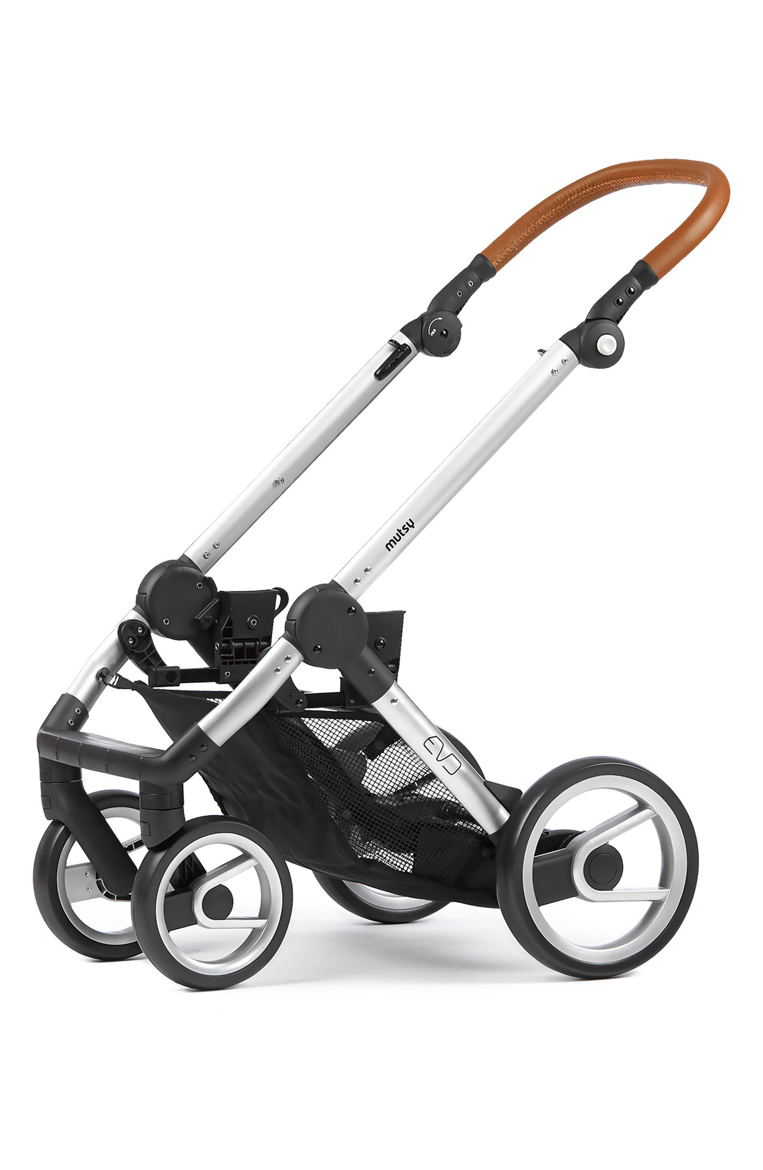 Evo - Urban Nomad Stroller,                             Alternate thumbnail 3, color,                             Silver/ Blue