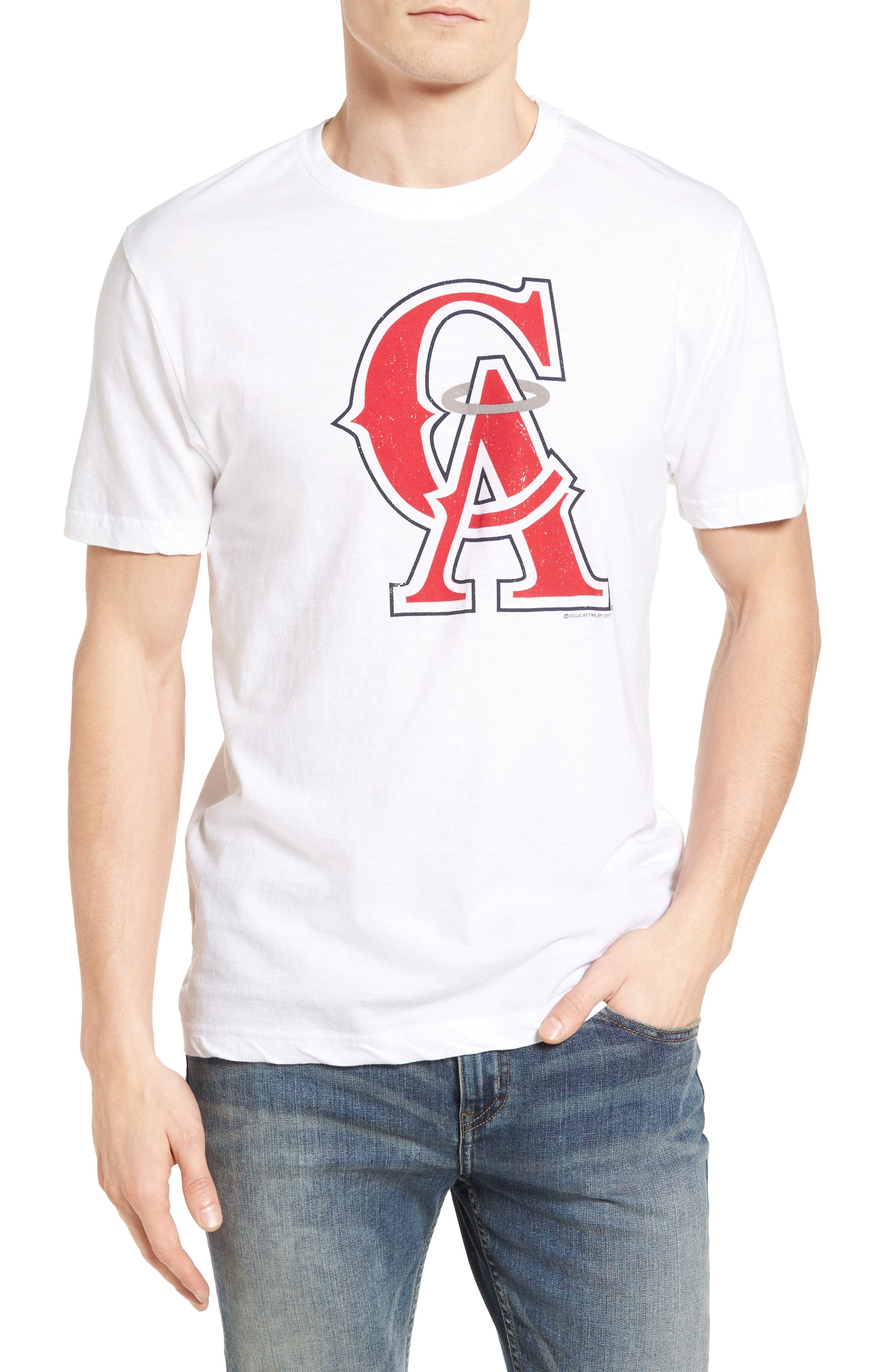 AMERICAN NEEDLE Brass Tack Los Angeles Angels of Anaheim T-Shirt