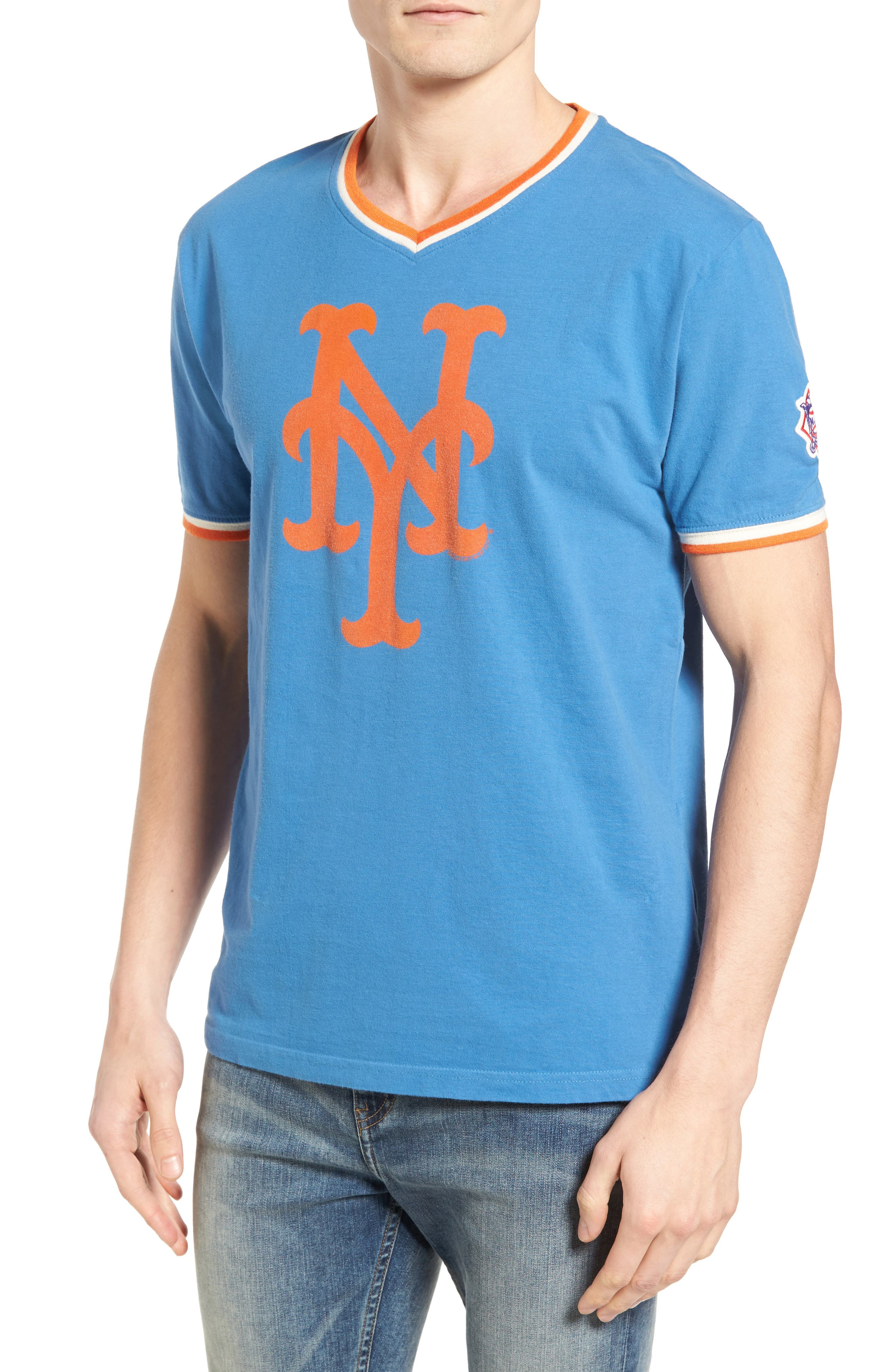 AMERICAN NEEDLE Eastwood New York Mets T-Shirt
