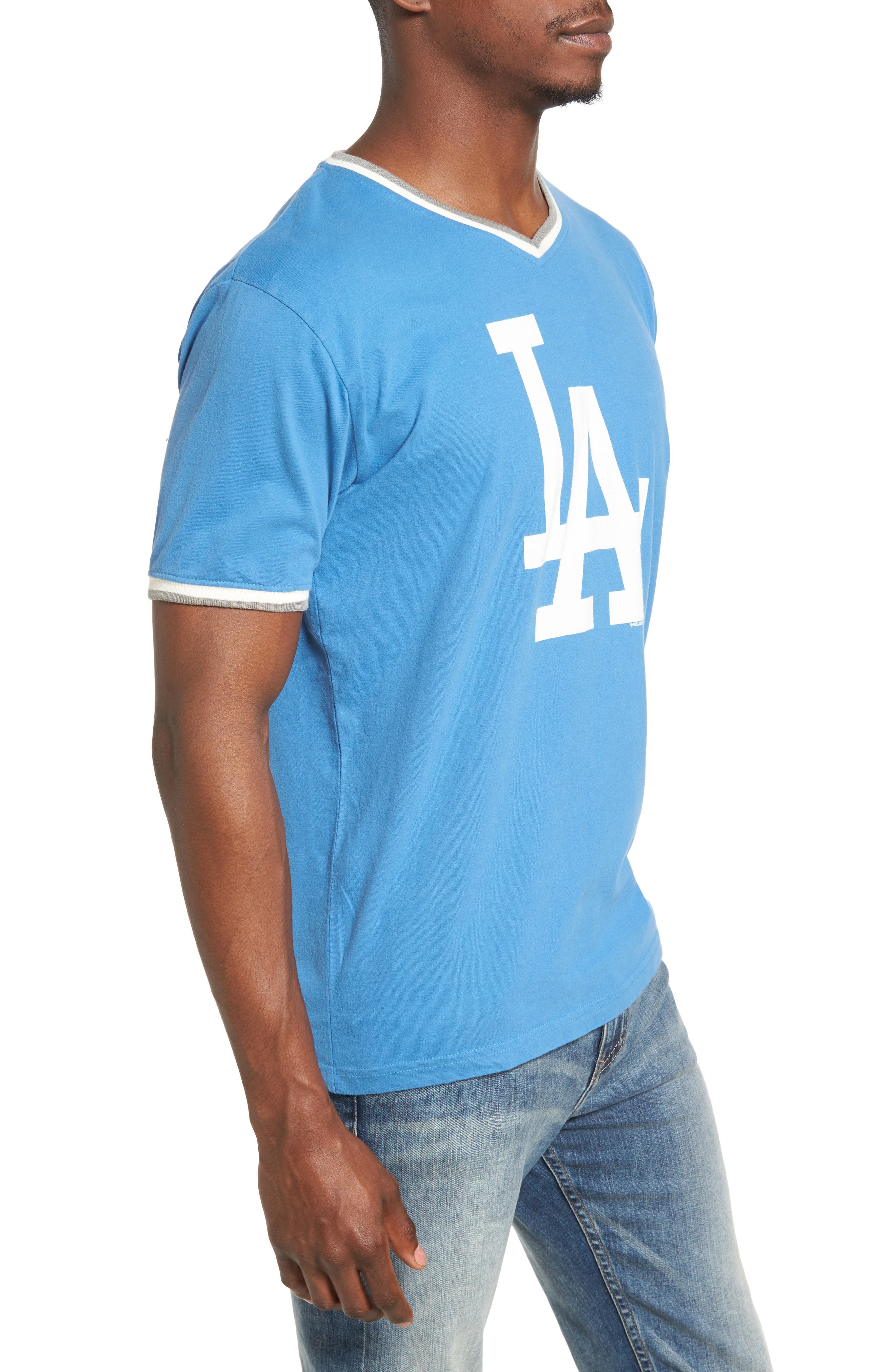 Eastwood Los Angeles Dodgers T-Shirt,                             Alternate thumbnail 3, color,                             Royal