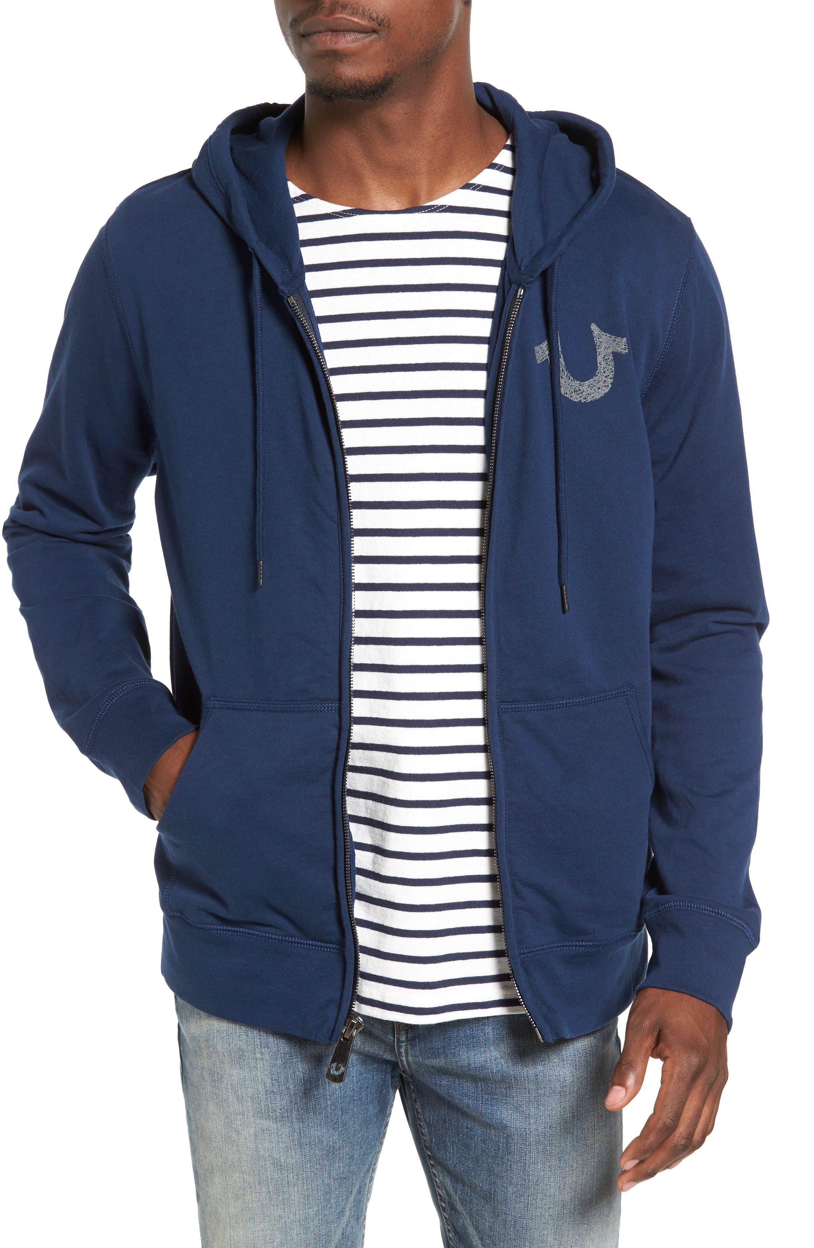 True Religion Brand Jeans Zip Hoodie