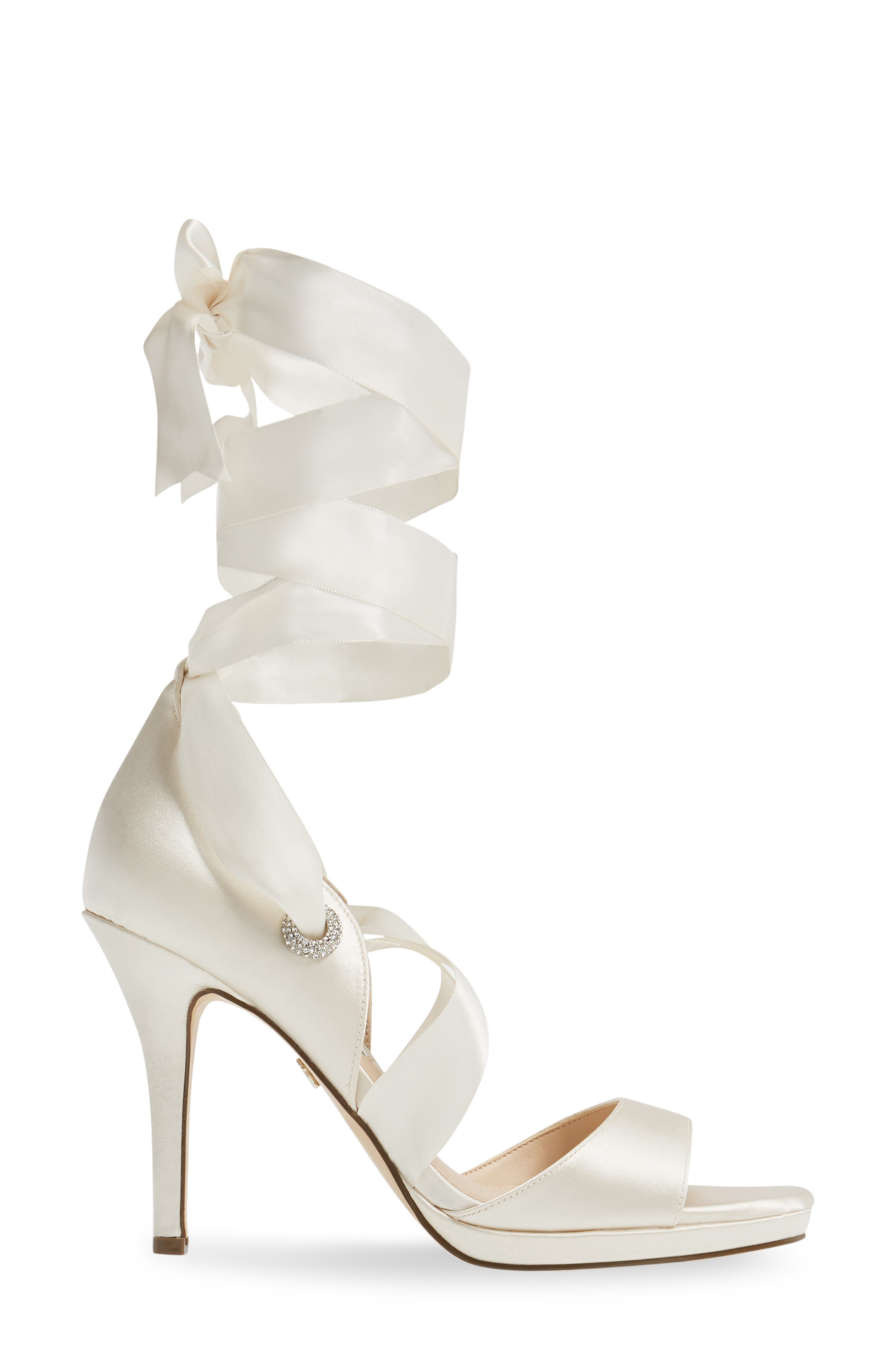 Alternate Image 3  - Nina Ramira Ankle Tie Sandal (Women)