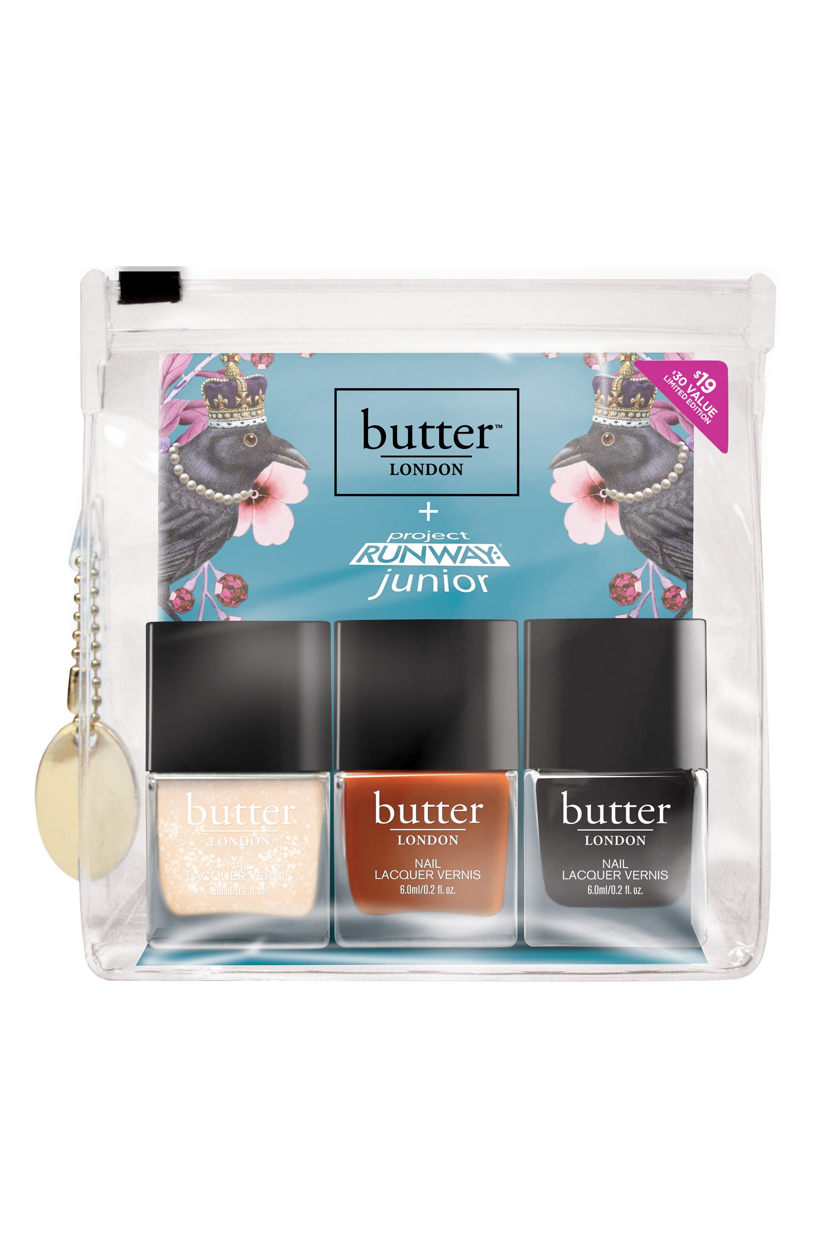 butter LONDON Project Runway® Junior Peace of Armor Nail Lacquer Set (Limited Edition) ($30 Value)