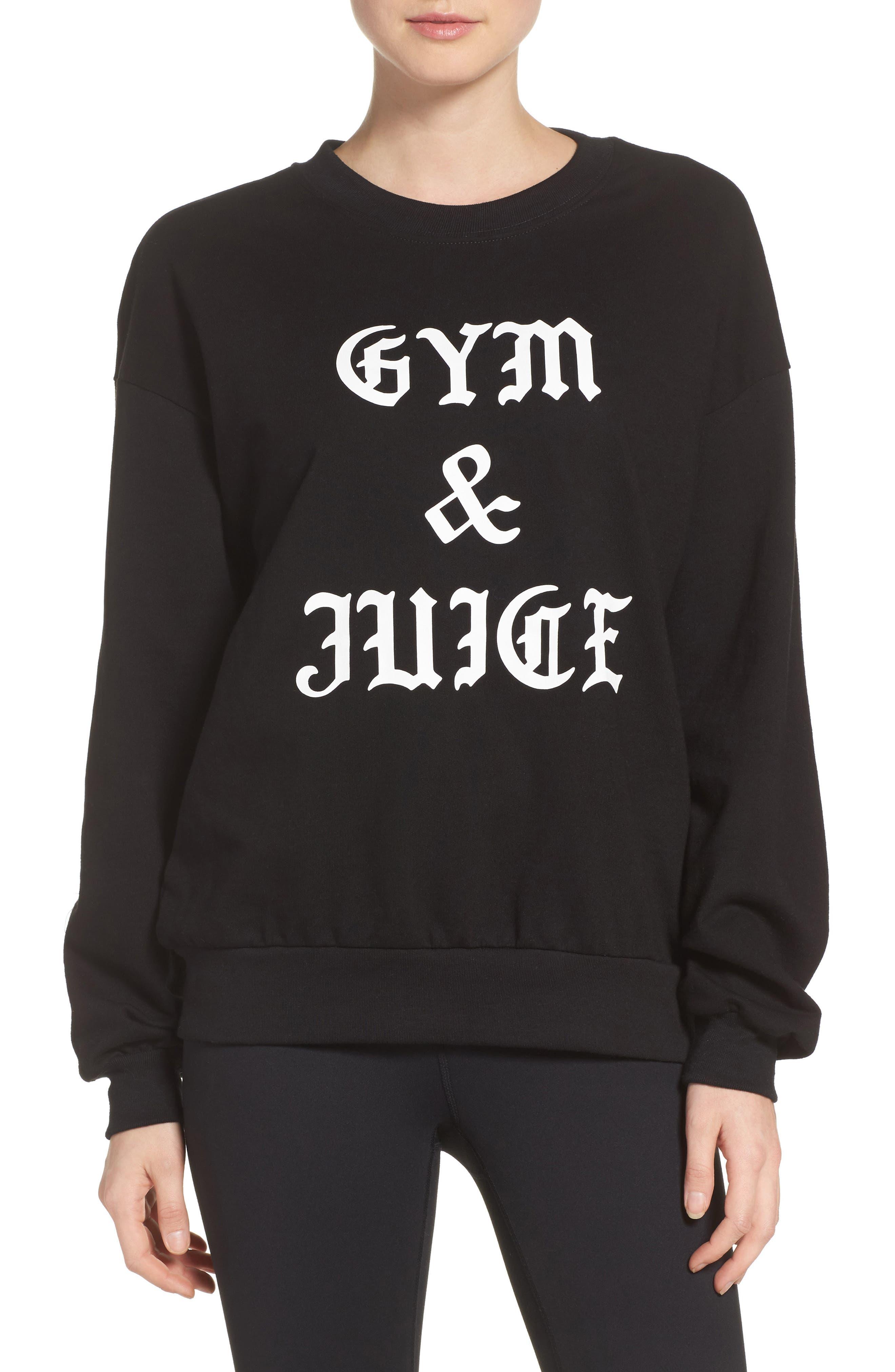 Private Party Gym & Juice Sweatshirt