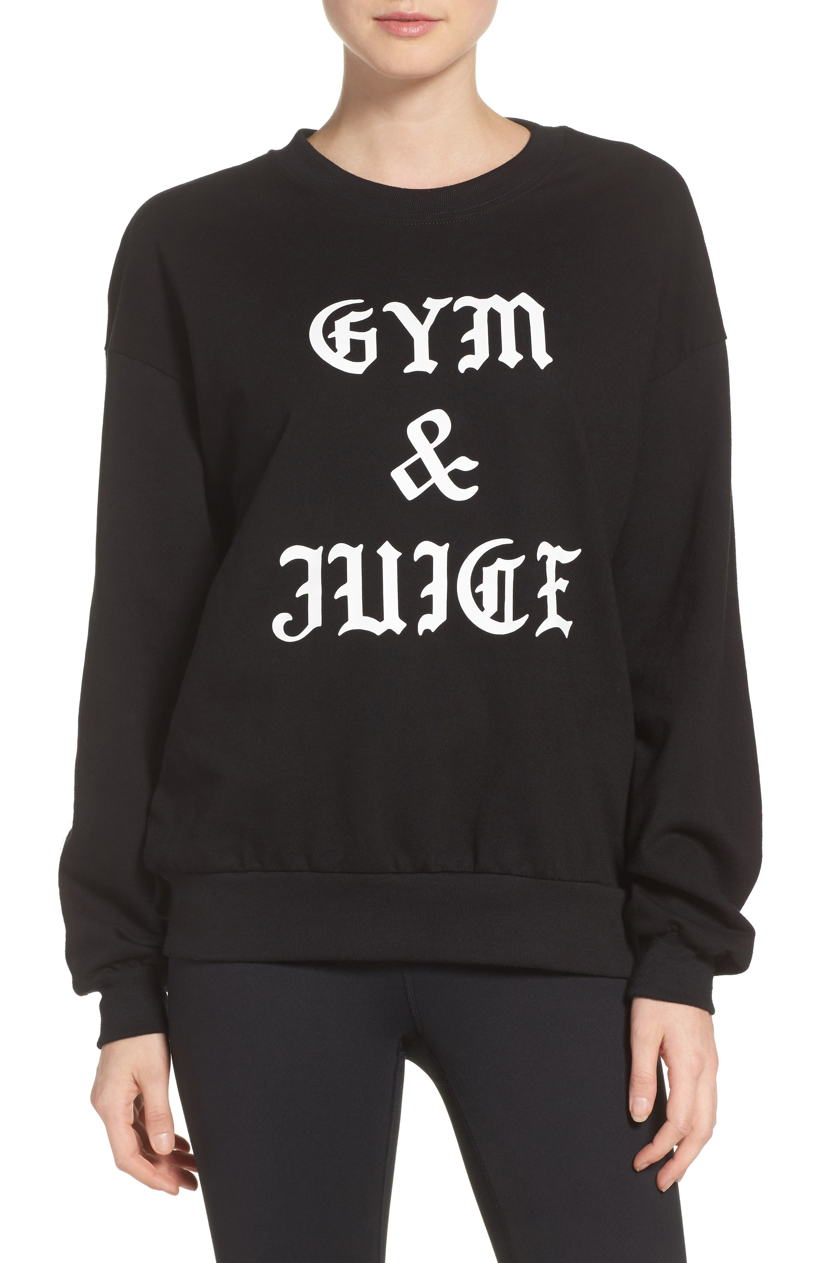 Private Party Gym & Juice Sweatshirt