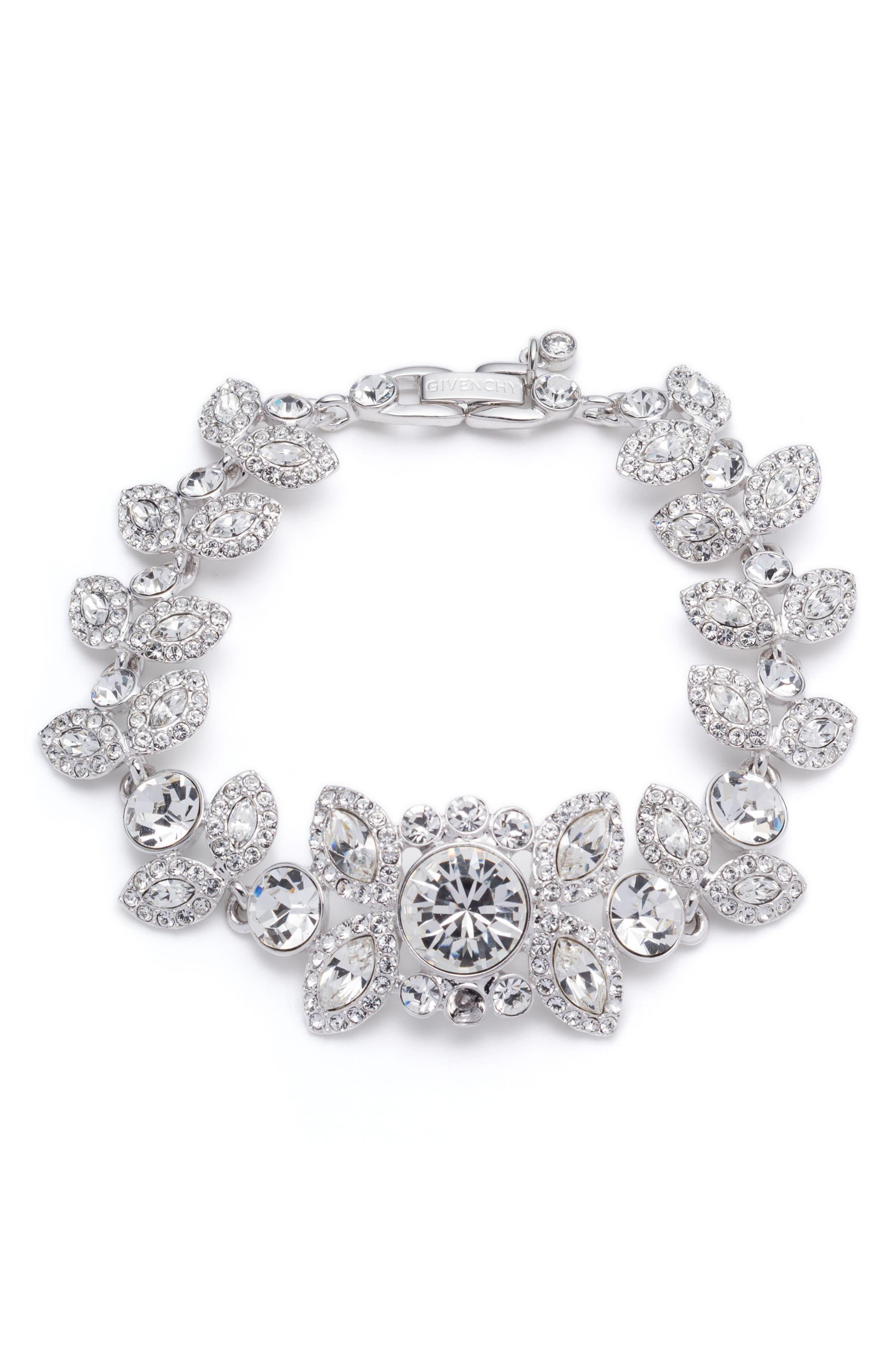 Givenchy Large Crystal Bracelet