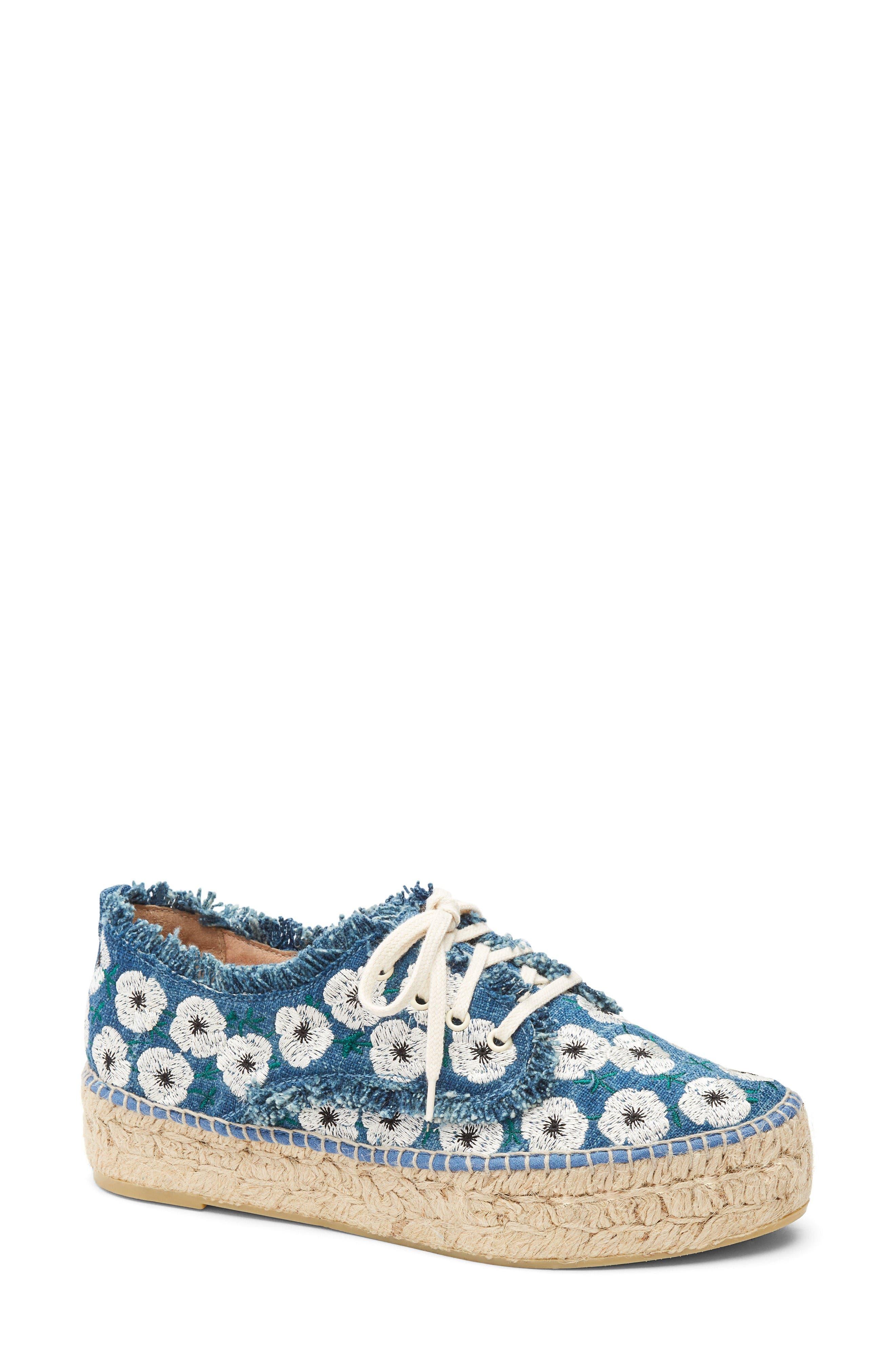Loeffler Randall Alfie Espadrille Sneaker (Women)
