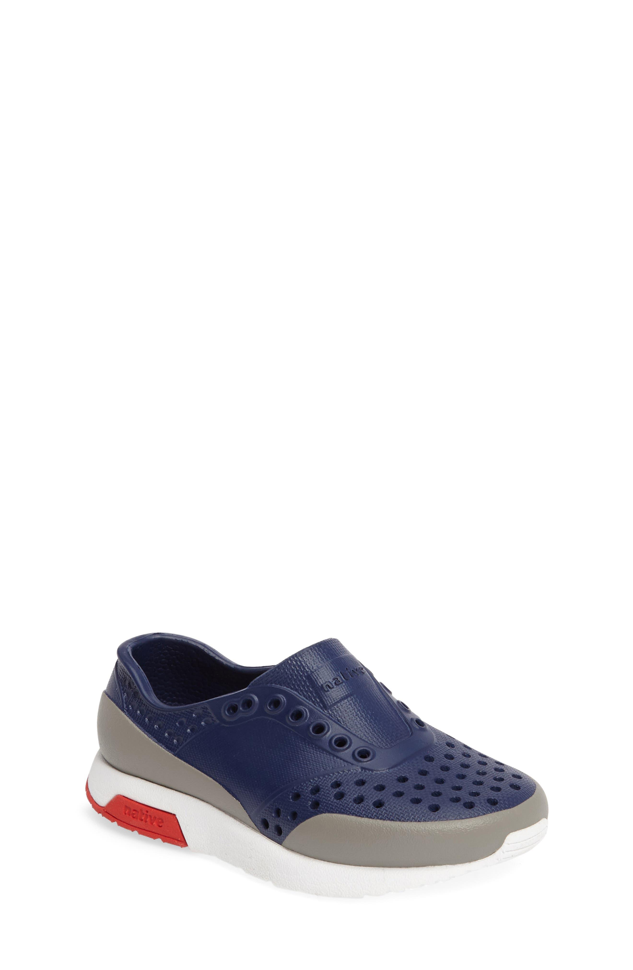 Native Shoes Lennox Block Slip-On Sneaker (Baby, Walker, Toddler & Little Kid)