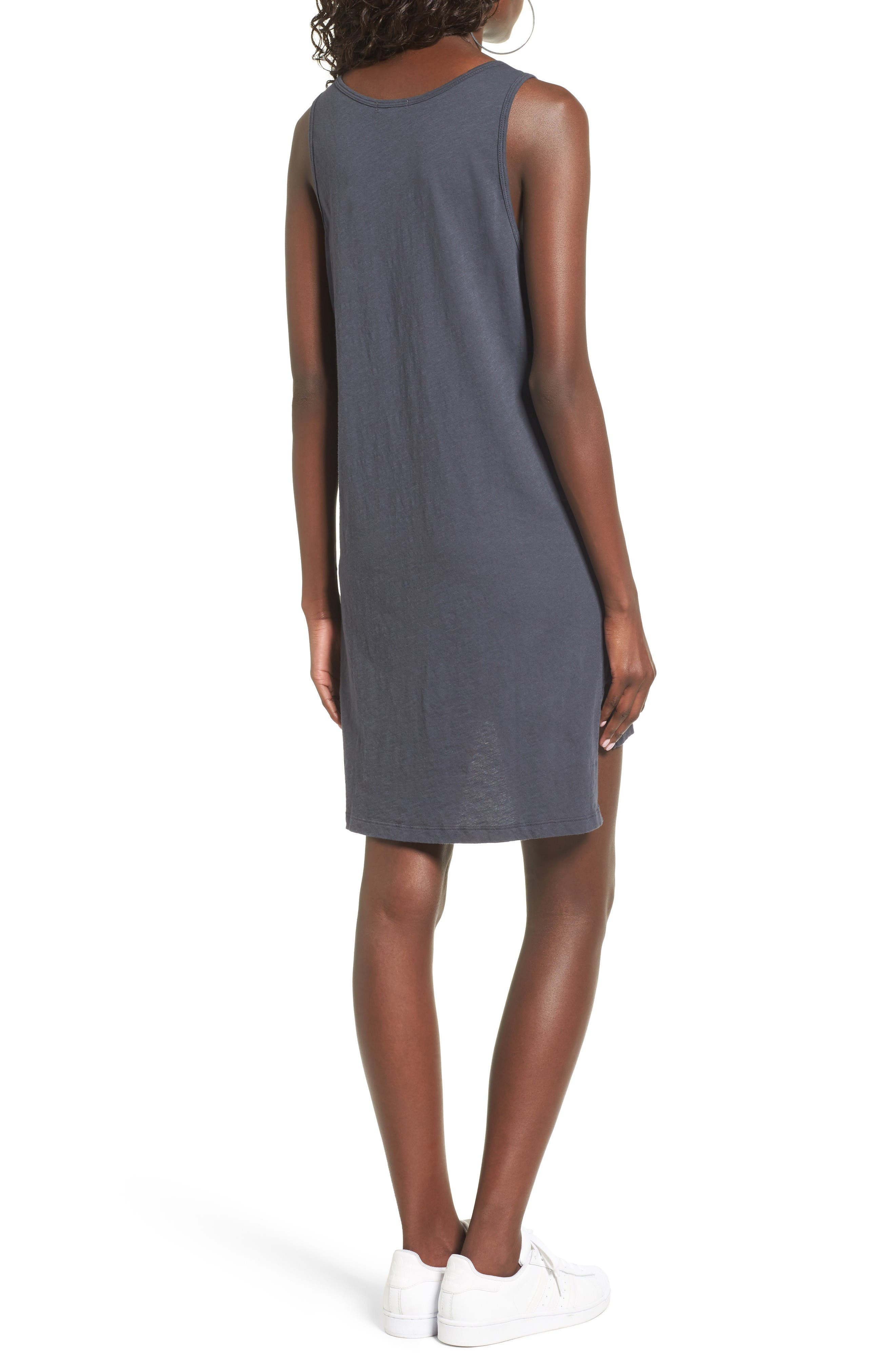 Alternate Image 2  - LNA Cross Strap Tank Dress