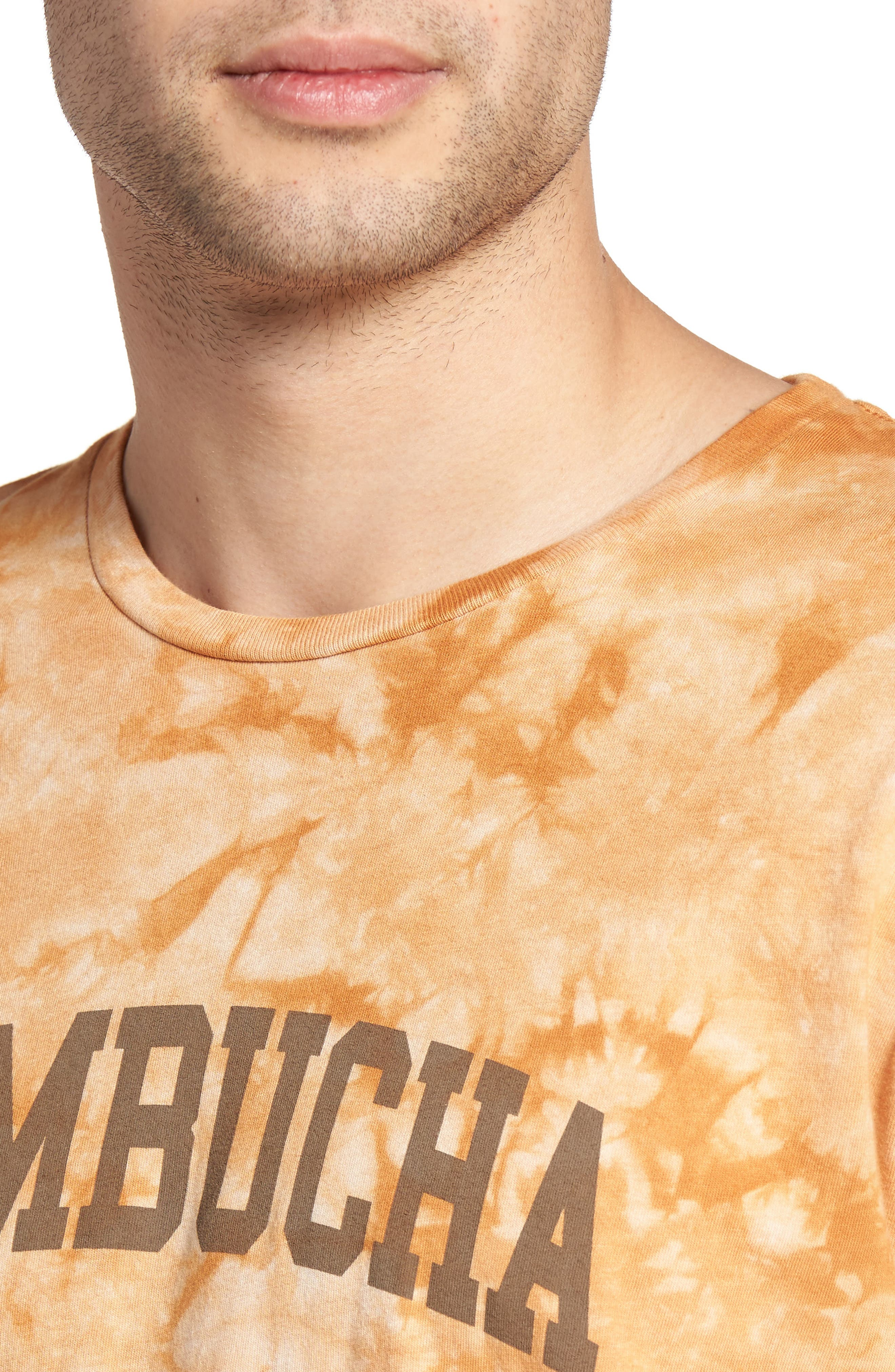 Tie Dye Kombucha Graphic T-Shirt,                             Alternate thumbnail 4, color,                             Cloud Desert Sand