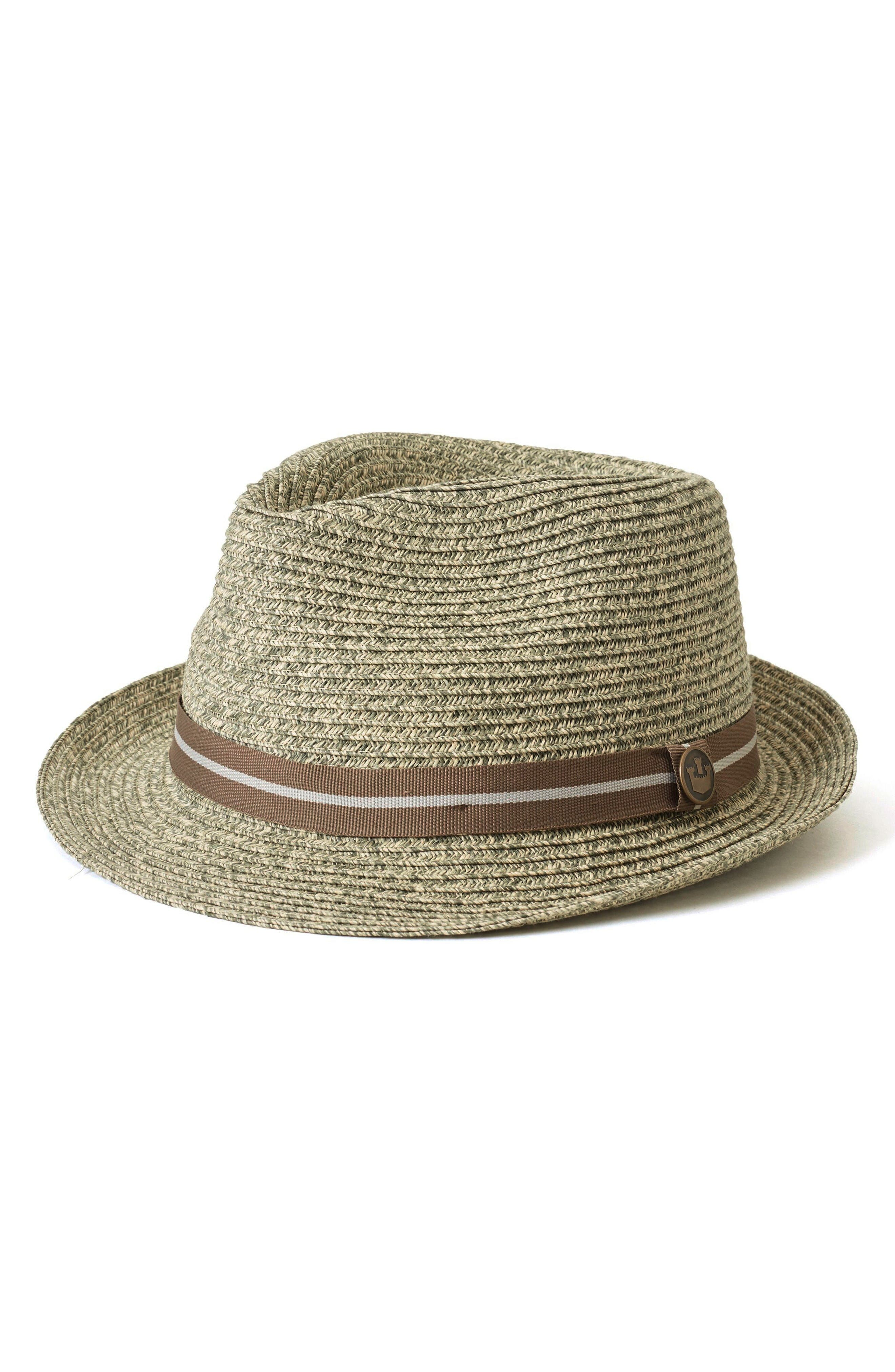 Main Image - Goorin Brothers Keep It Real Straw Trilby