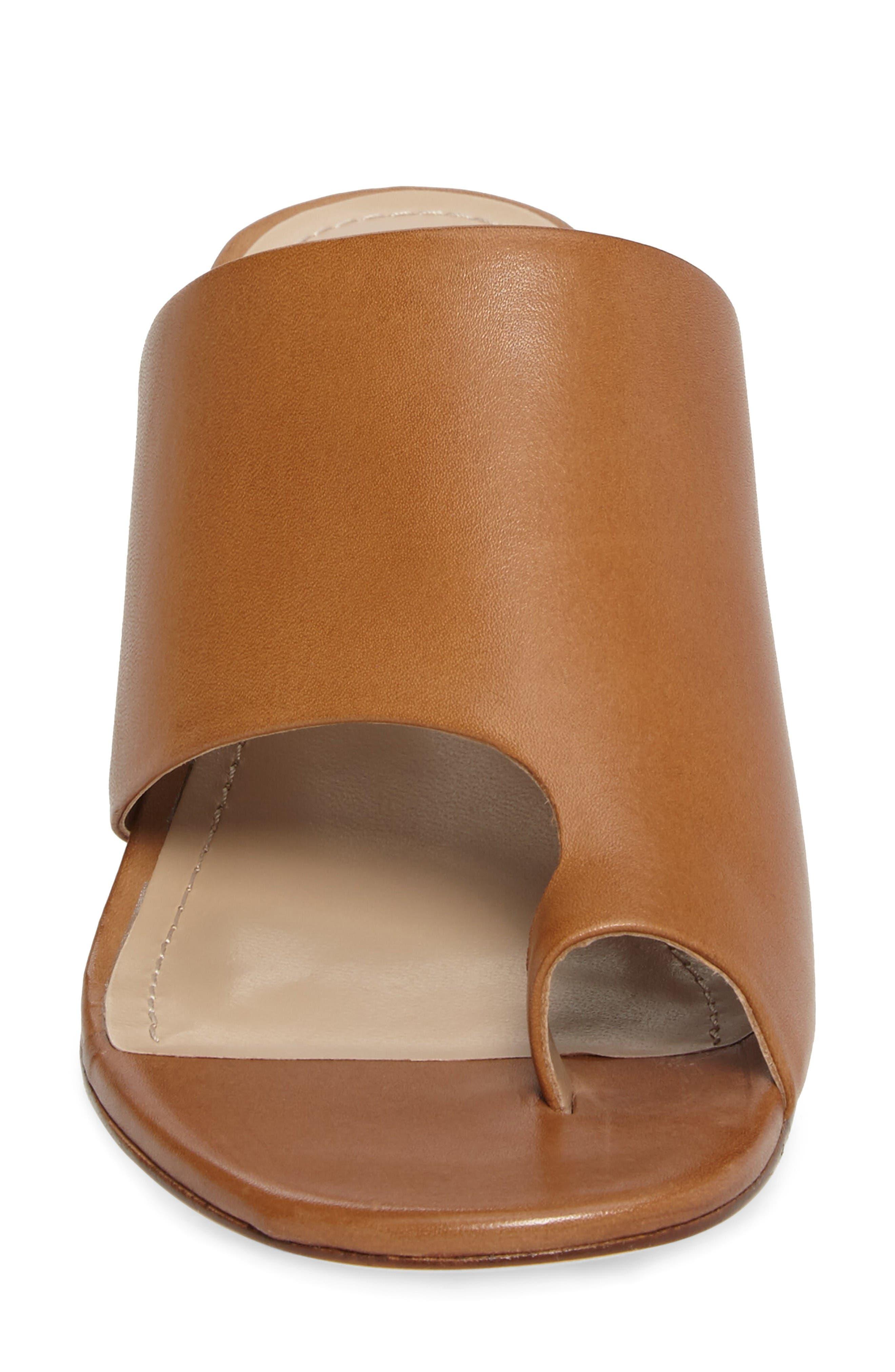 Alternate Image 5  - Johnston & Murphy Kelsey Toe Loop Slide Sandal (Women)