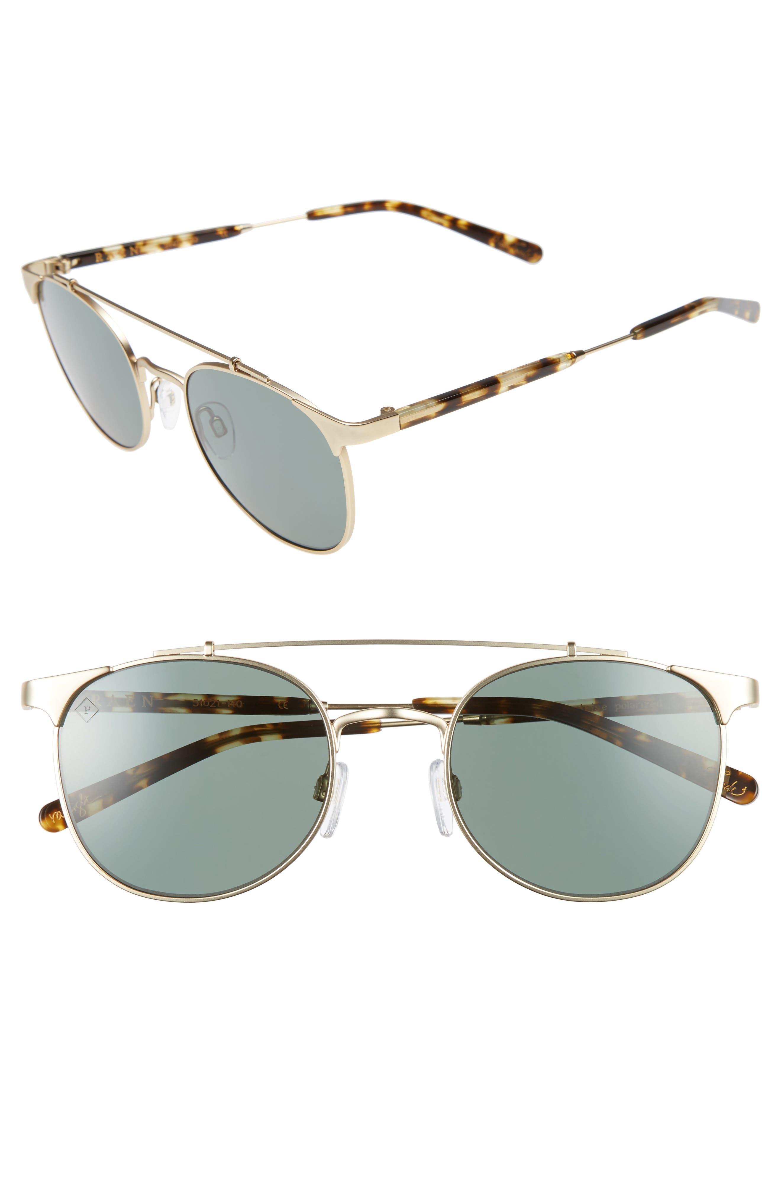 RAEN Raleigh 51mm Polarized Sunglasses