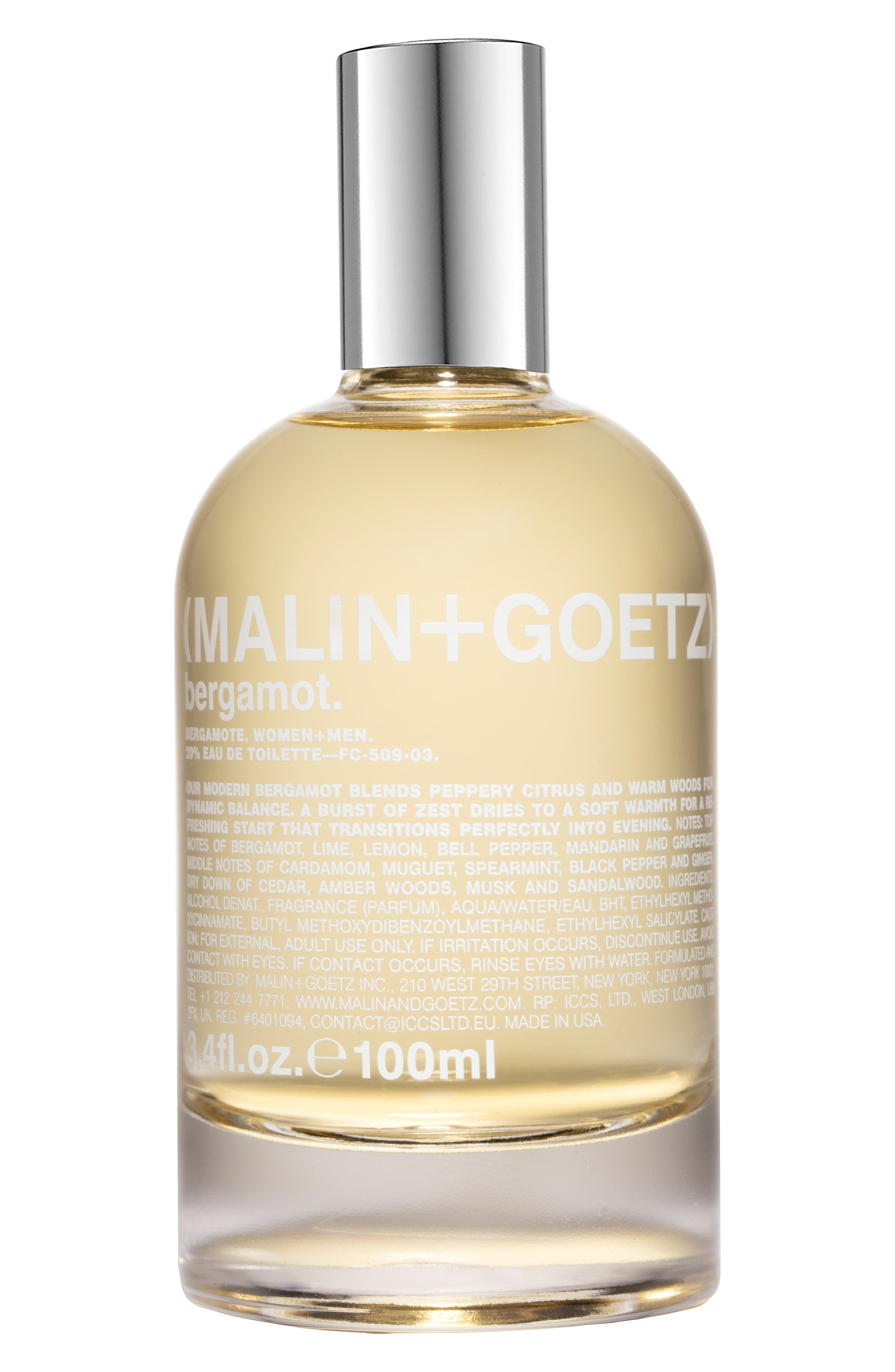 Main Image - Malin + Goetz Bergamot Eau de Toilette