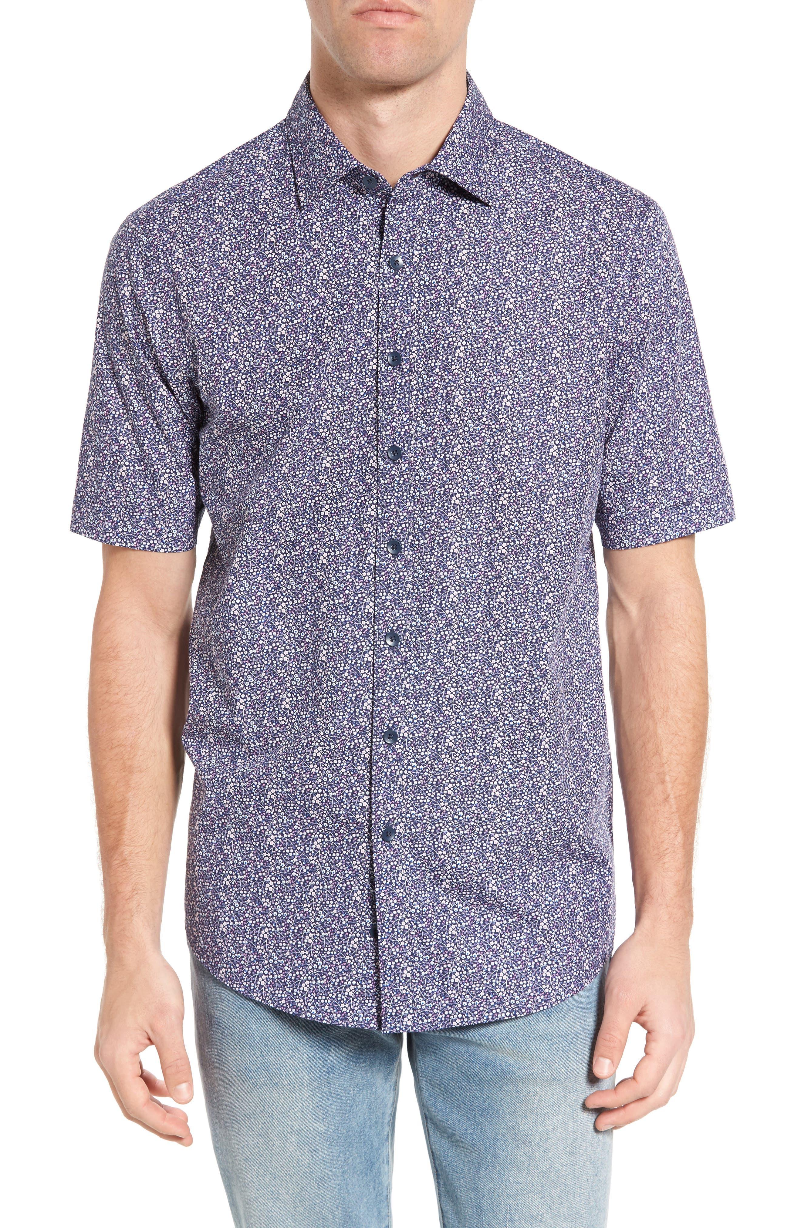 Lorneville Original Fit Sport Shirt,                         Main,                         color, Royal
