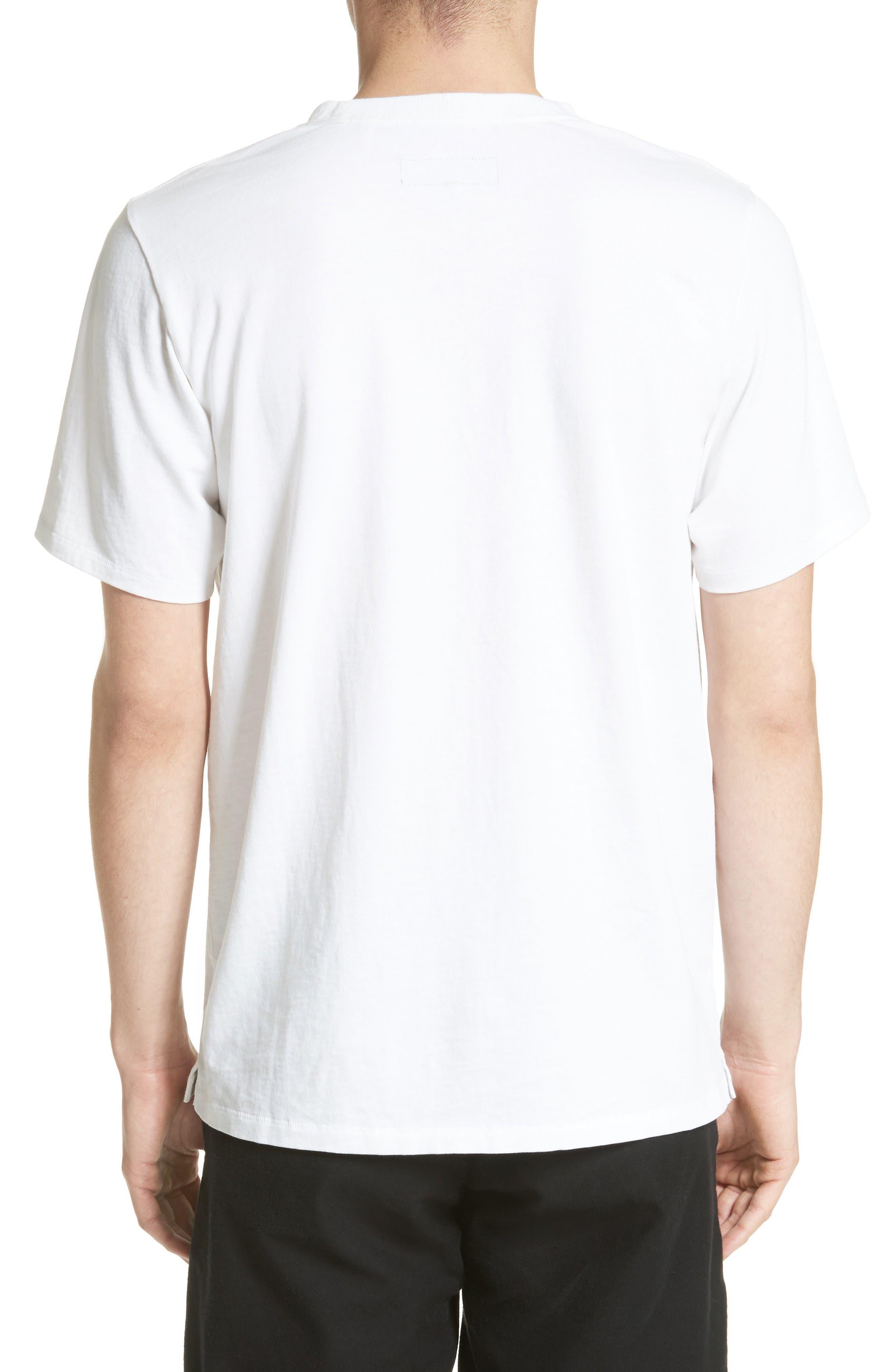 Alternate Image 2  - rag & bone Glitch Logo T-Shirt