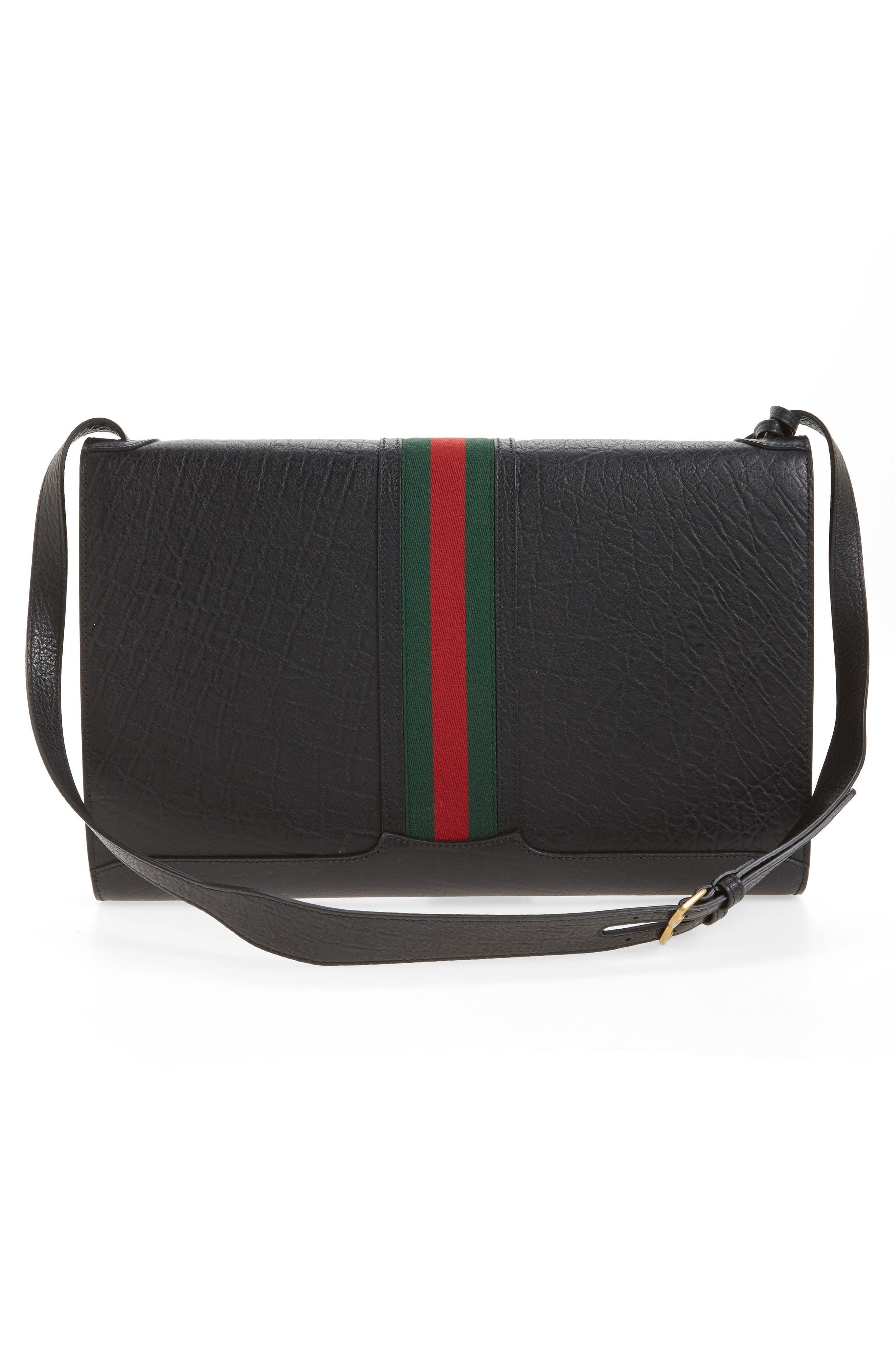 Neo Vintage Messenger Bag,                             Alternate thumbnail 3, color,                             Black Multi