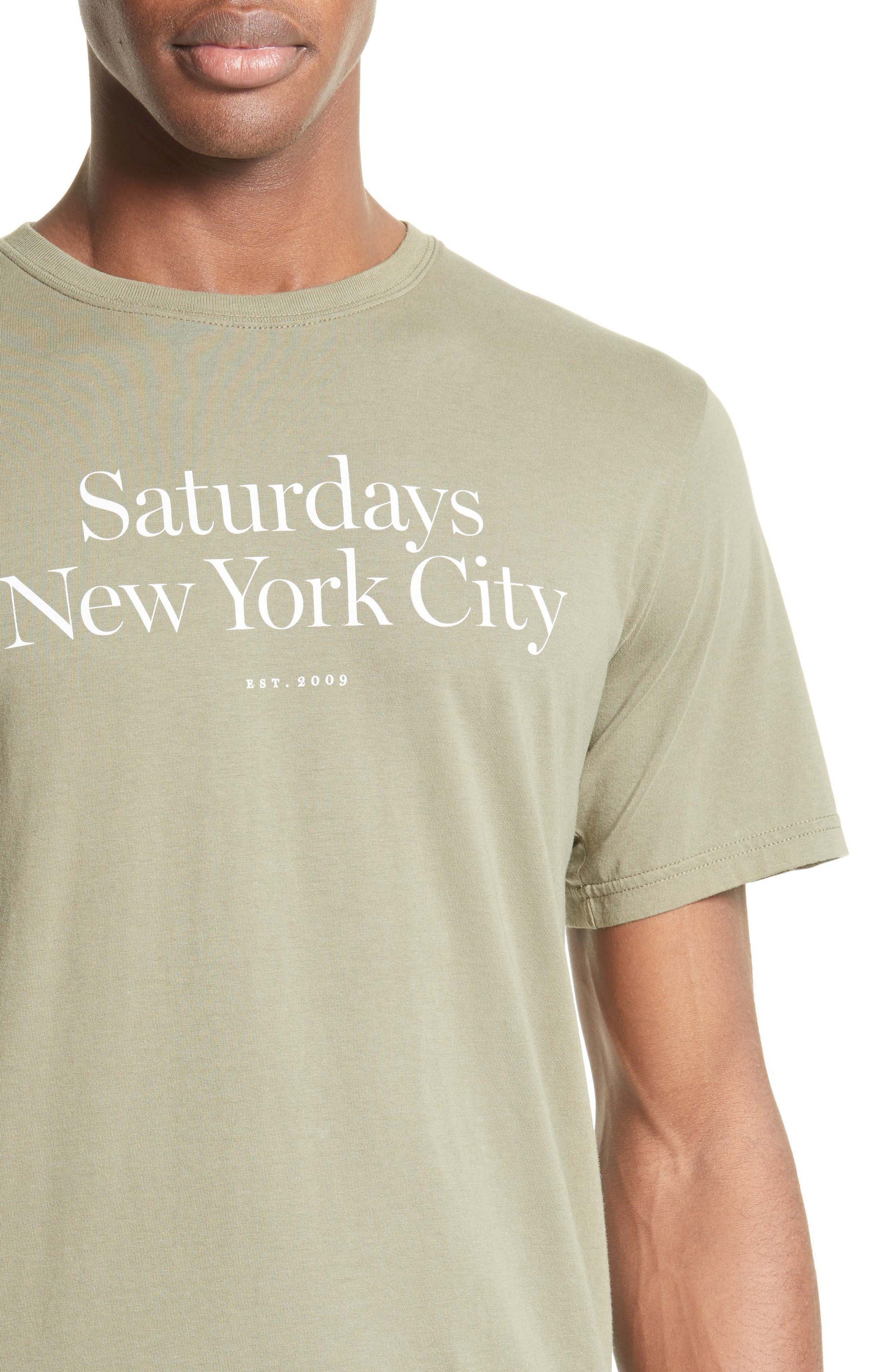 Alternate Image 4  - Saturdays NYC Miller T-Shirt