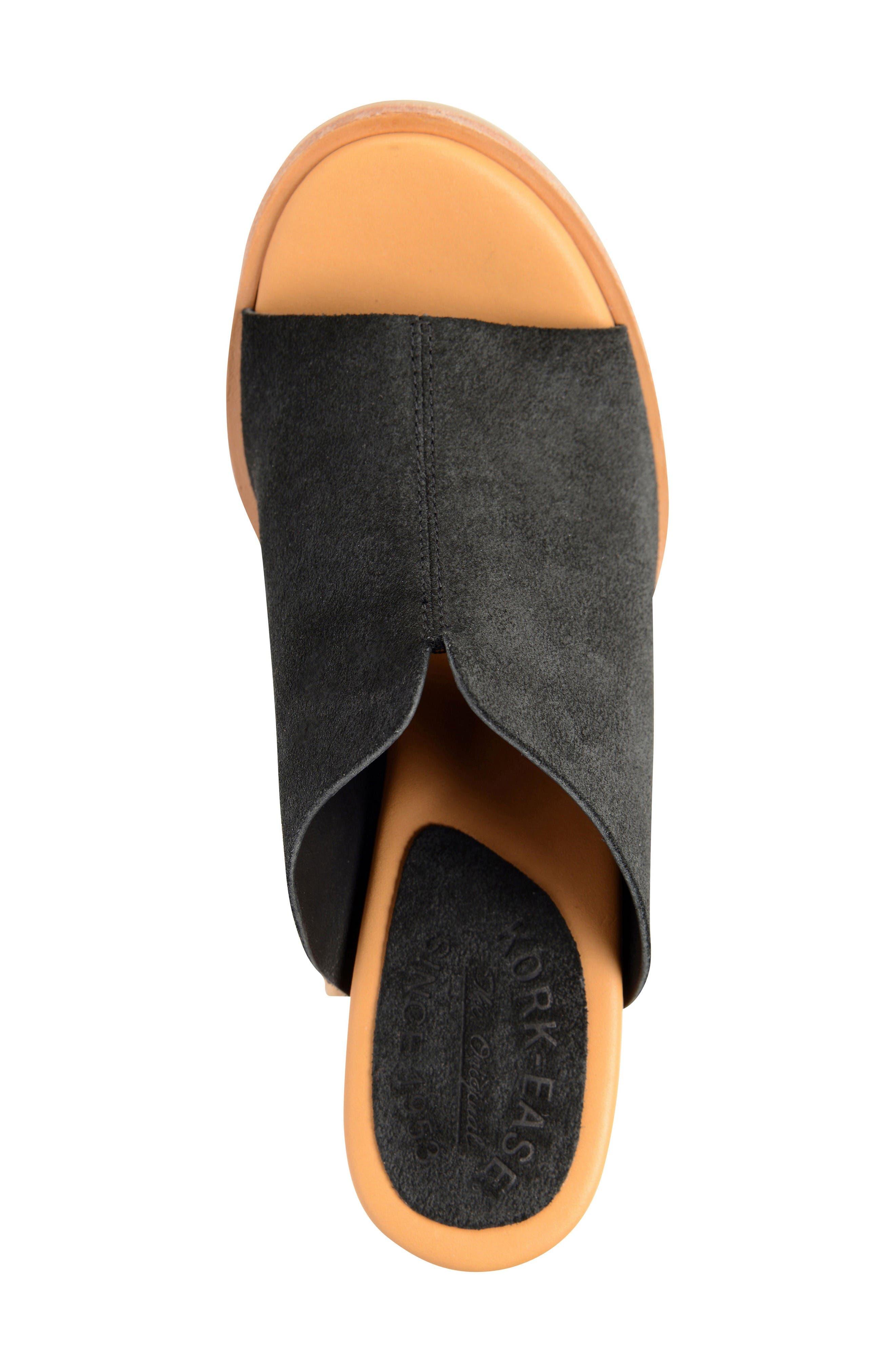 Lawton Sandal,                             Alternate thumbnail 3, color,                             Black Suede