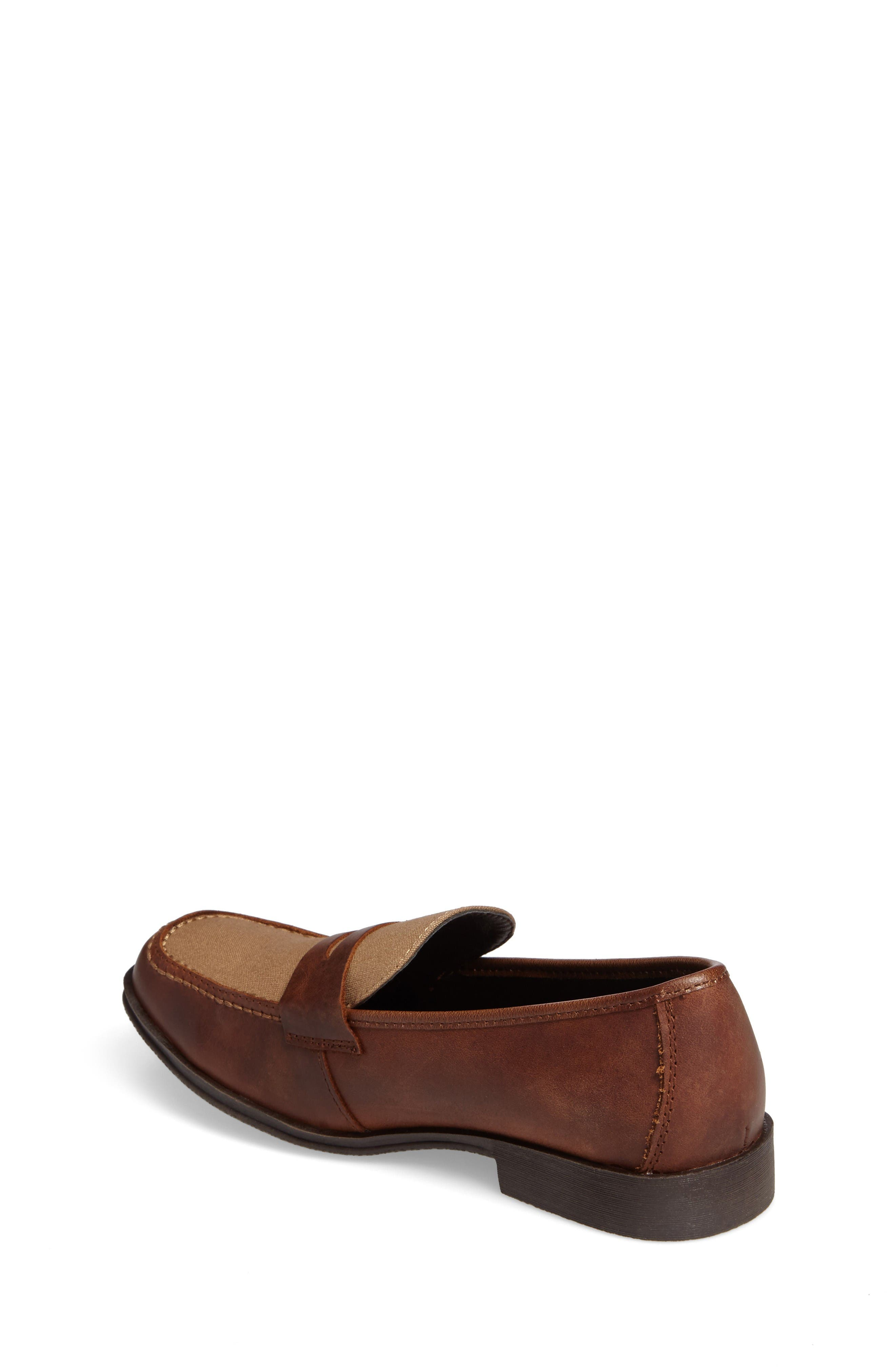 Club Loft Loafer,                             Alternate thumbnail 2, color,                             Tan/ Brown Leather