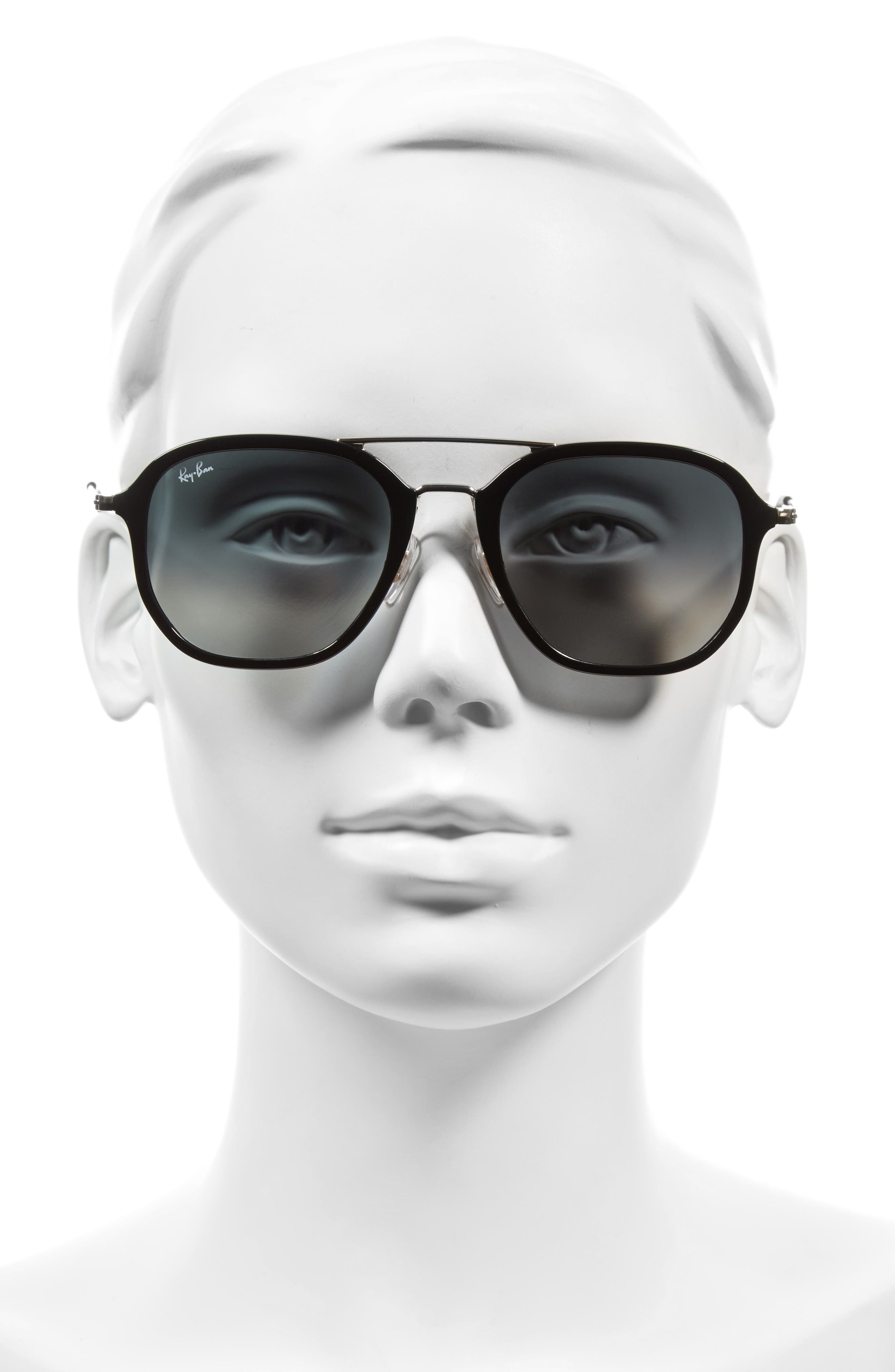 Alternate Image 2  - Ray-Ban 52mm Square Sunglasses