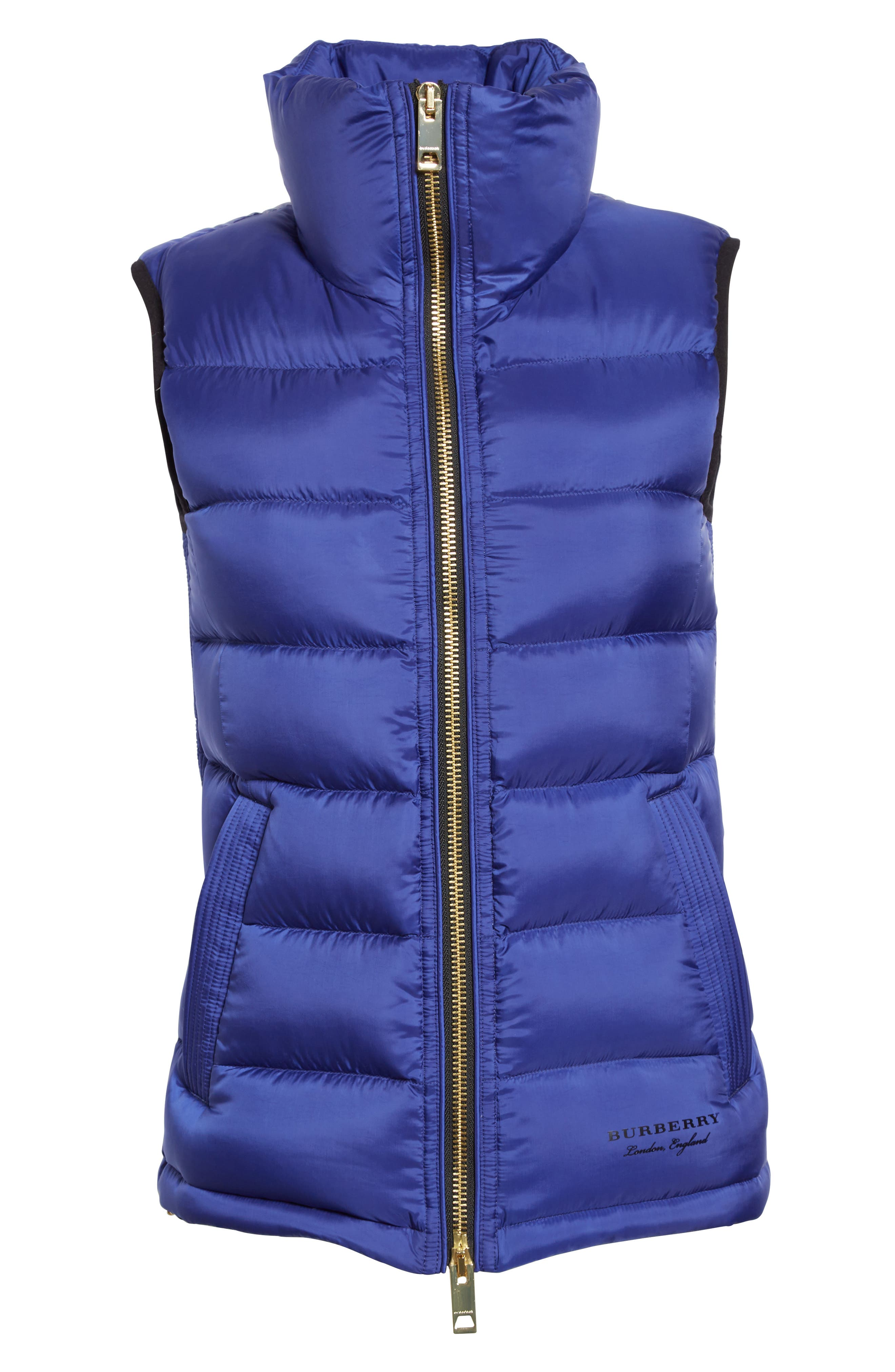 Alternate Image 6  - Burberry Bredon Quilted Puffer Vest