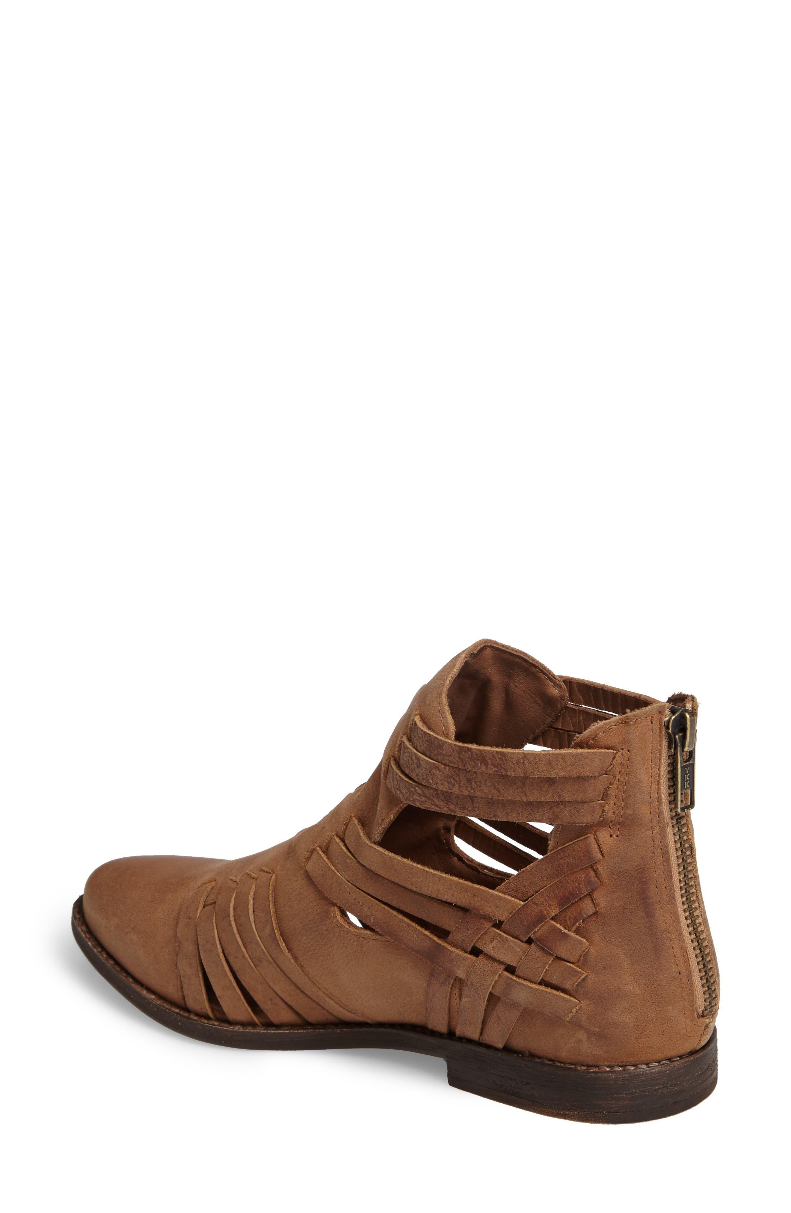 Fairuz Bootie,                             Alternate thumbnail 2, color,                             Tan Leather