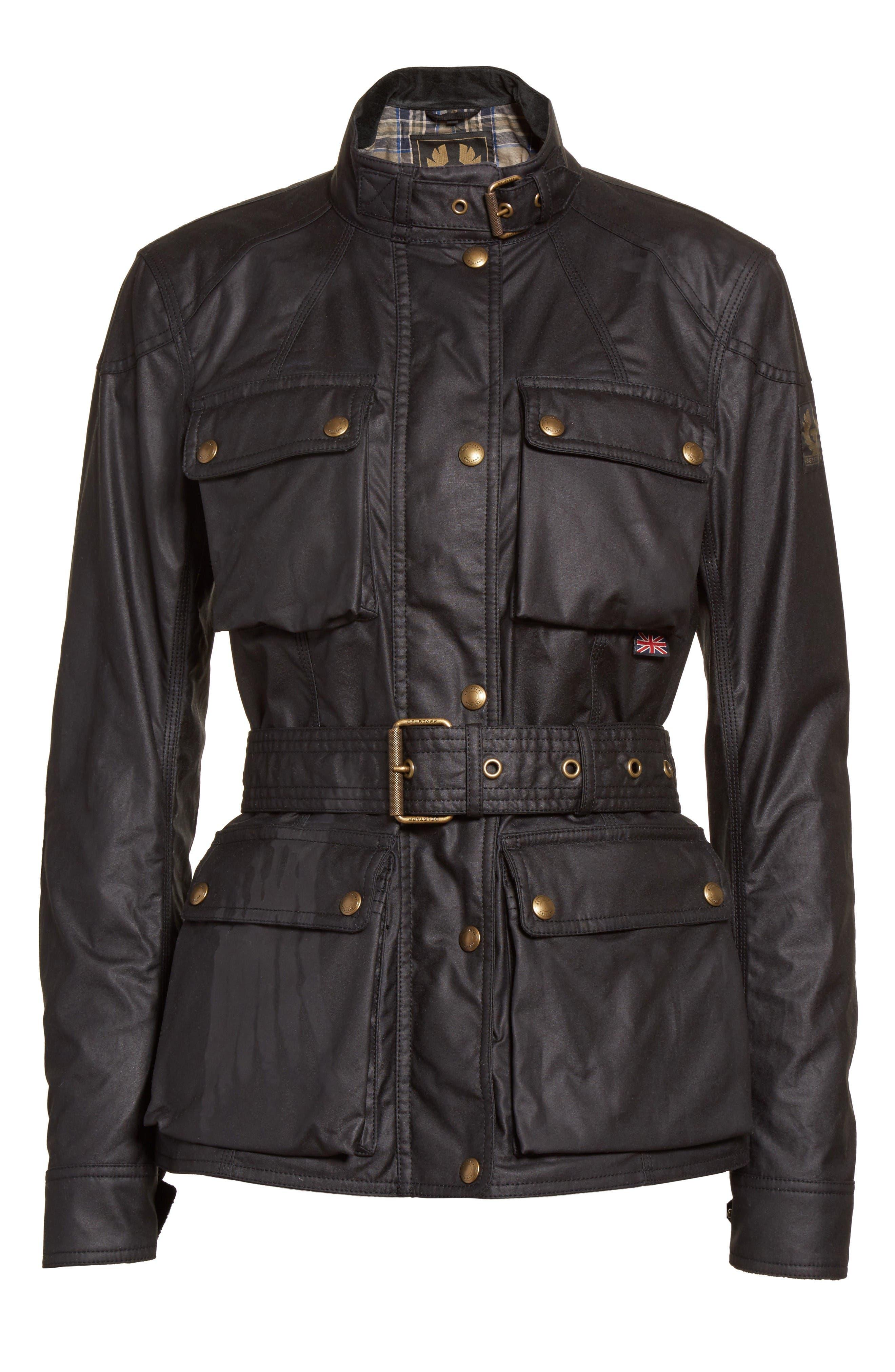 Alternate Image 4  - Belstaff 'Roadmaster' Waxed Cotton Coat