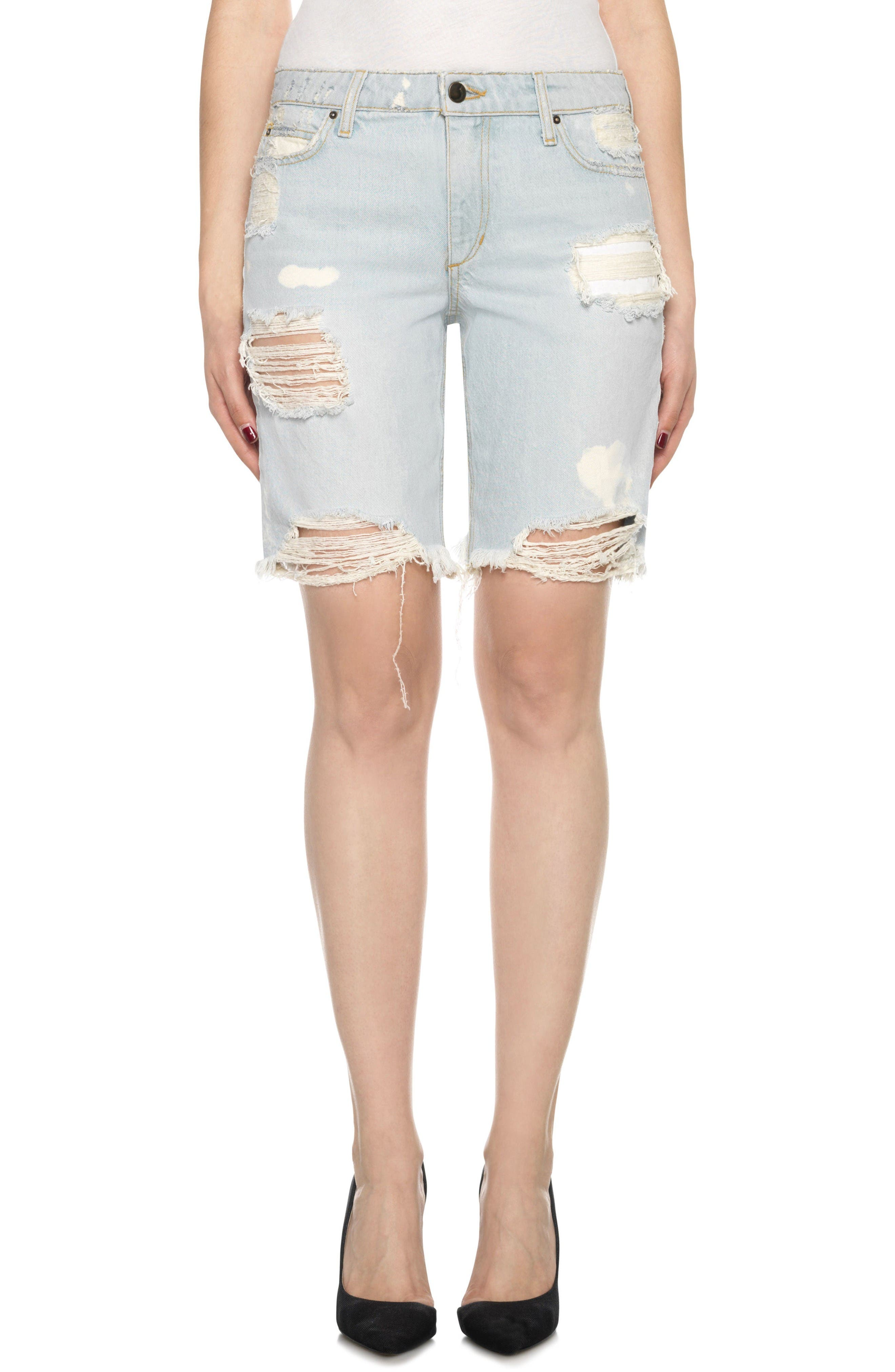 Alternate Image 1 Selected - Joe's Collector's - Finn Cutoff Bermuda Shorts (Elkie)