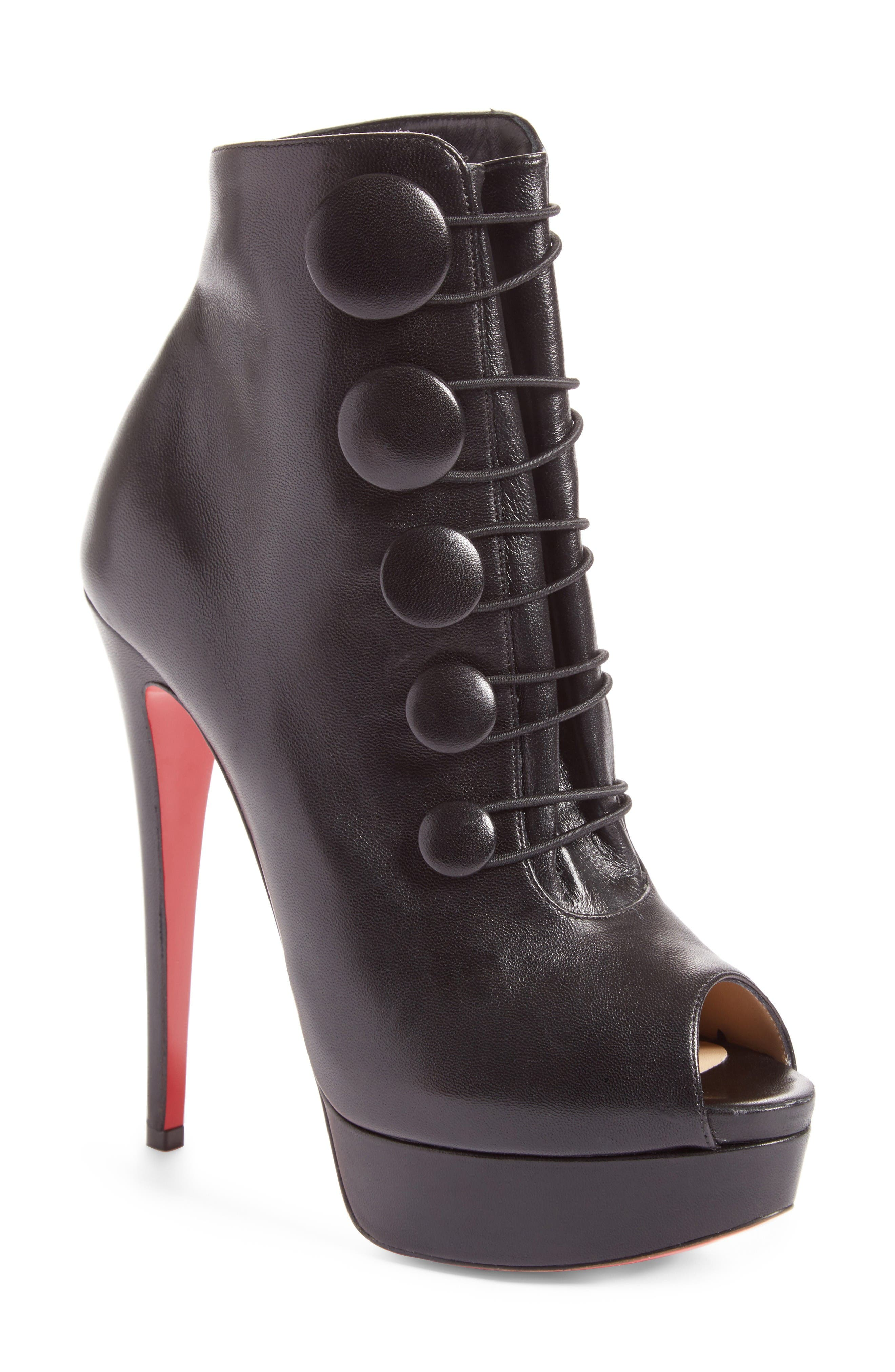 Alternate Image 1 Selected - Christian Louboutin Lady Booton Bootie (Women)