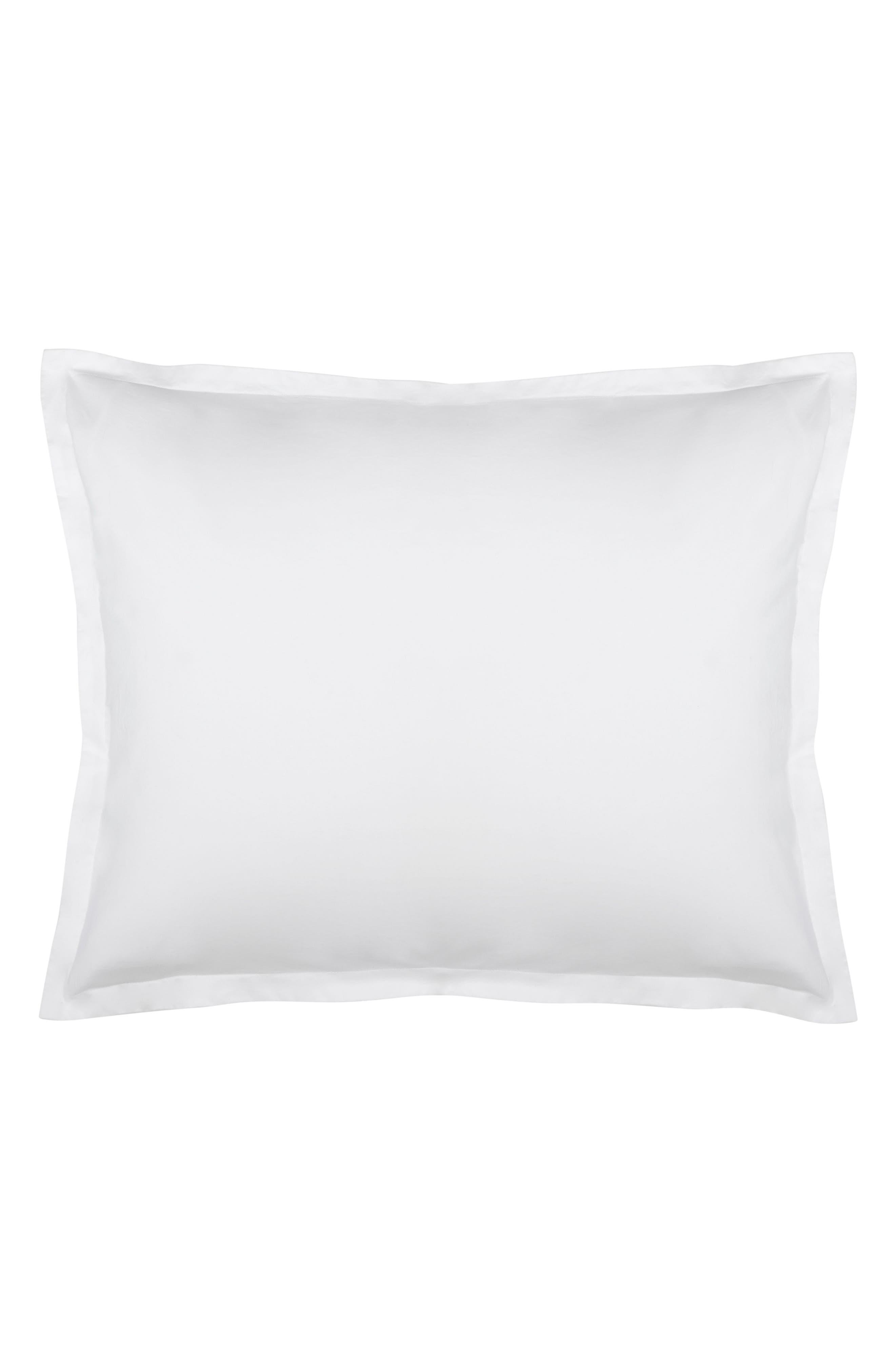 Lorimer 300 Thread Count Pillow Sham,                         Main,                         color, White