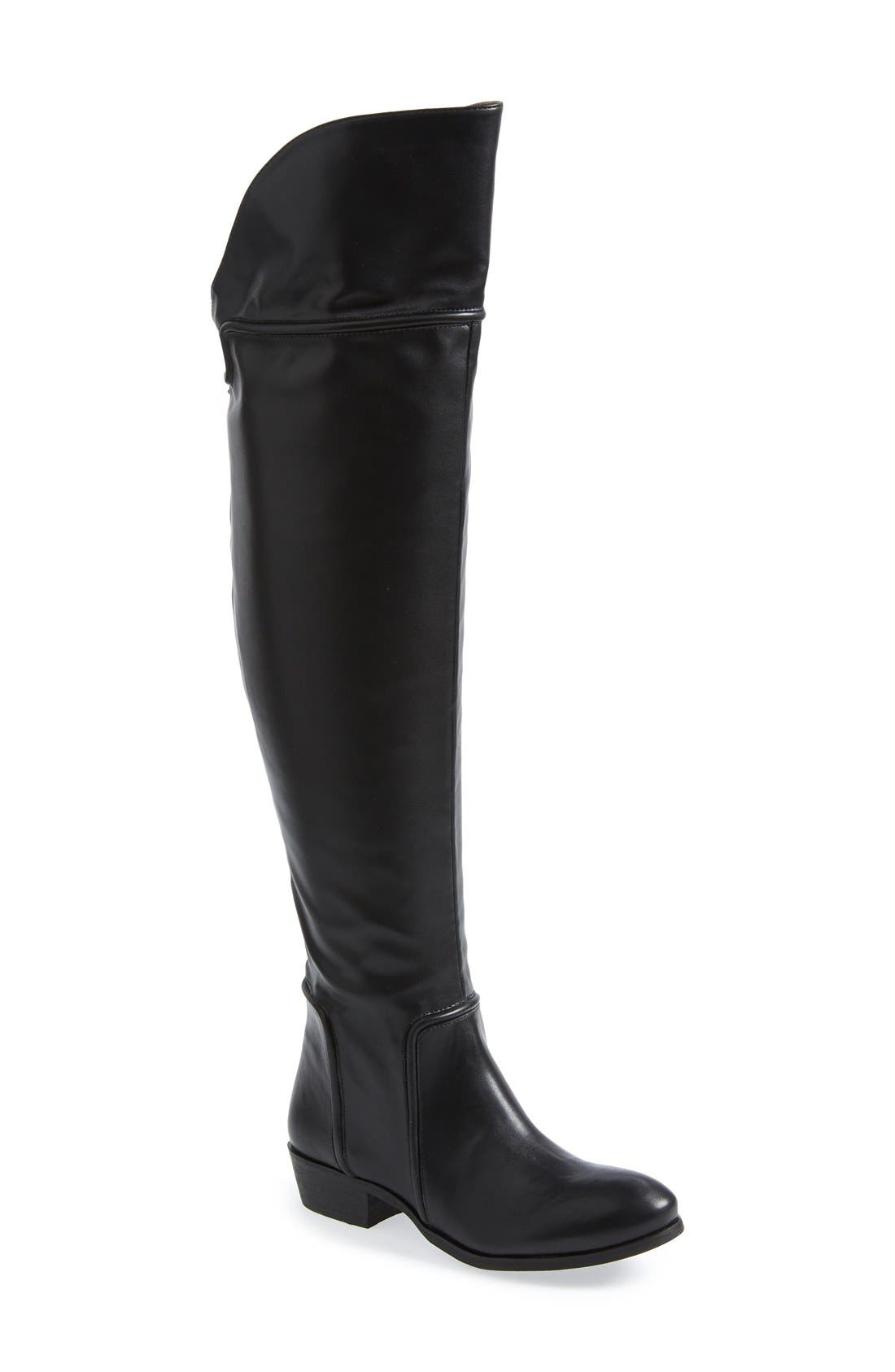 Alternate Image 1 Selected - REPORT Signature 'Gema' Over the Knee Boot (Online Only) (Women)