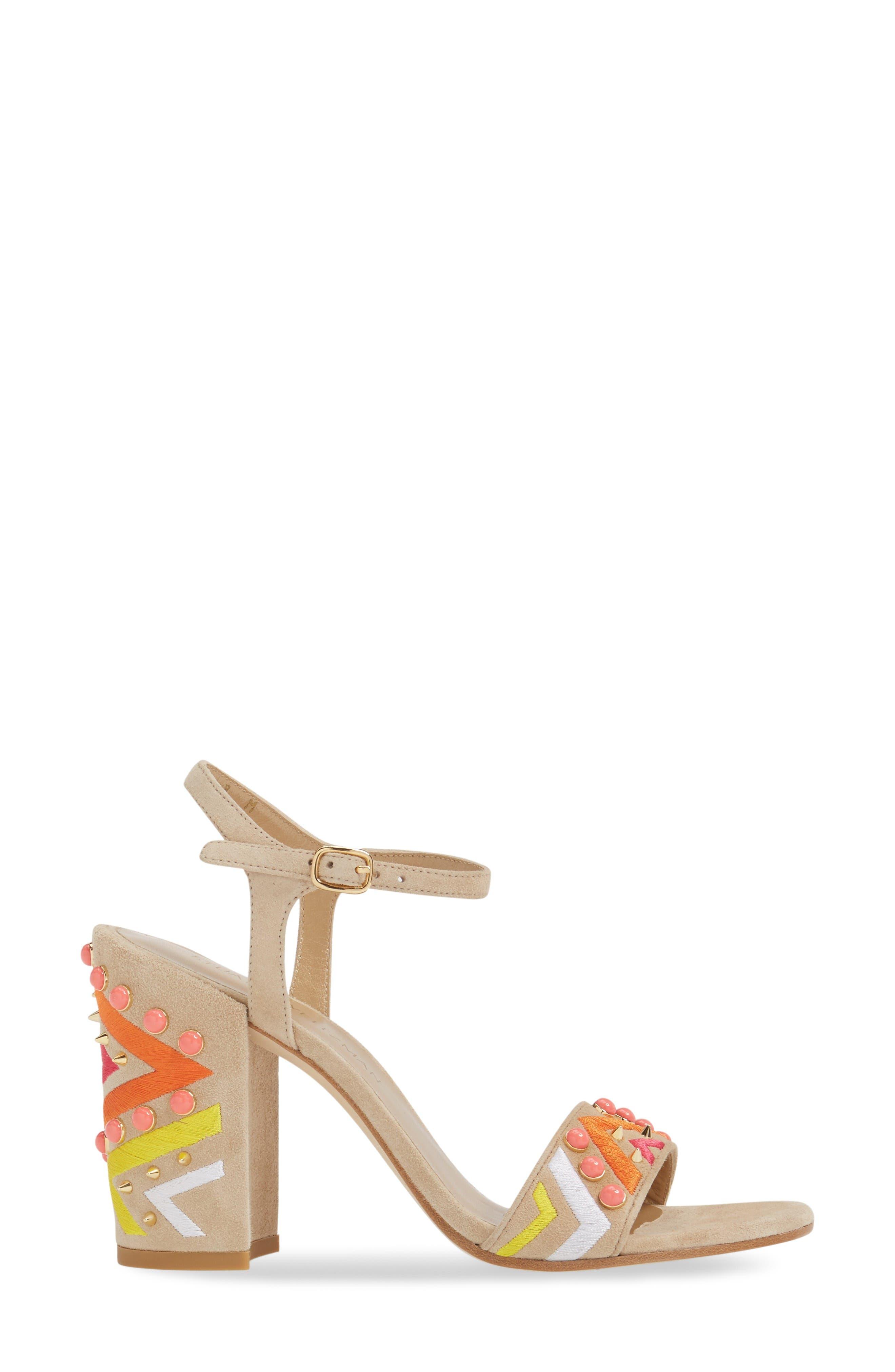 Alternate Image 3  - Stuart Weitzman Both Embellished Sandal (Women)