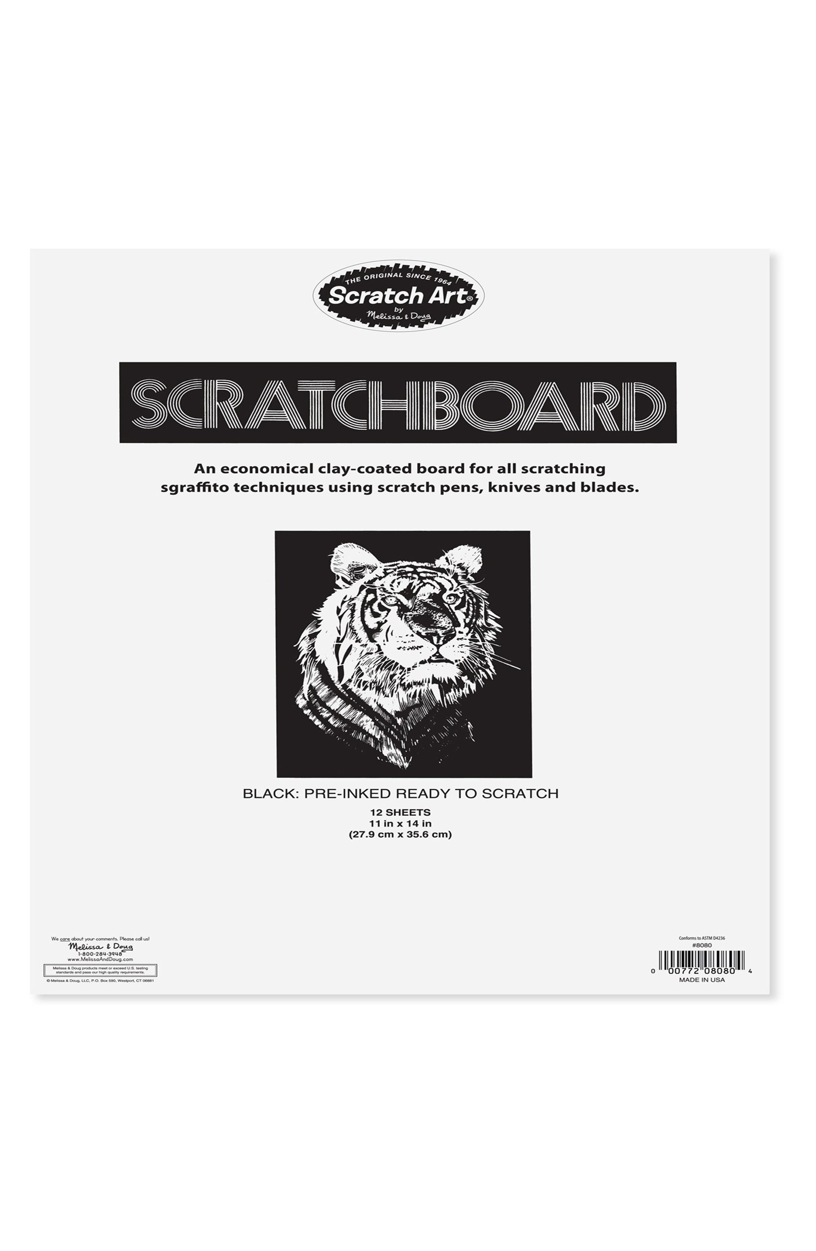 Alternate Image 2  - Melissa & Doug Silver Scratch Board