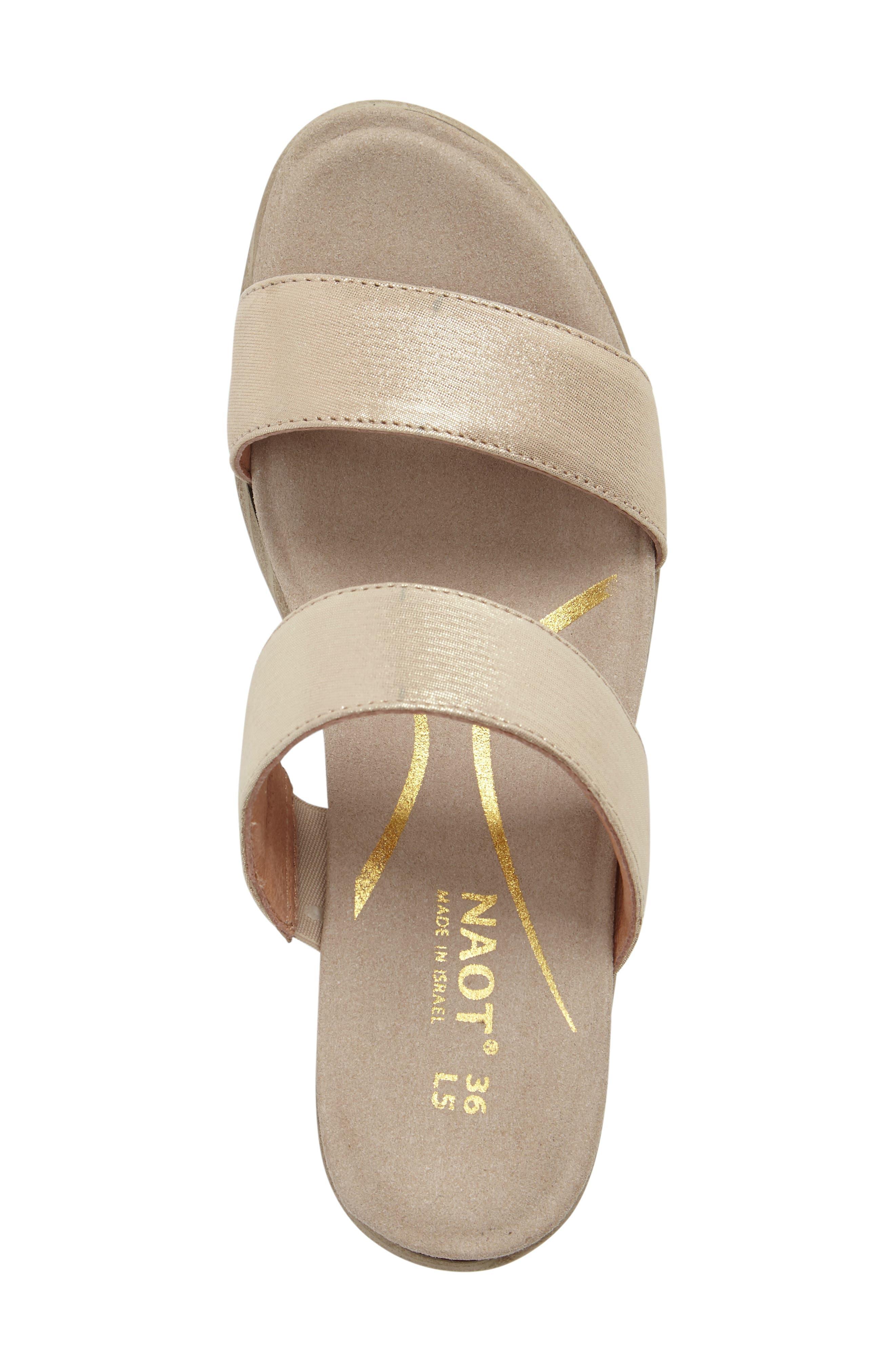 Alternate Image 5  - Naot Fate Platform Sandal (Women)