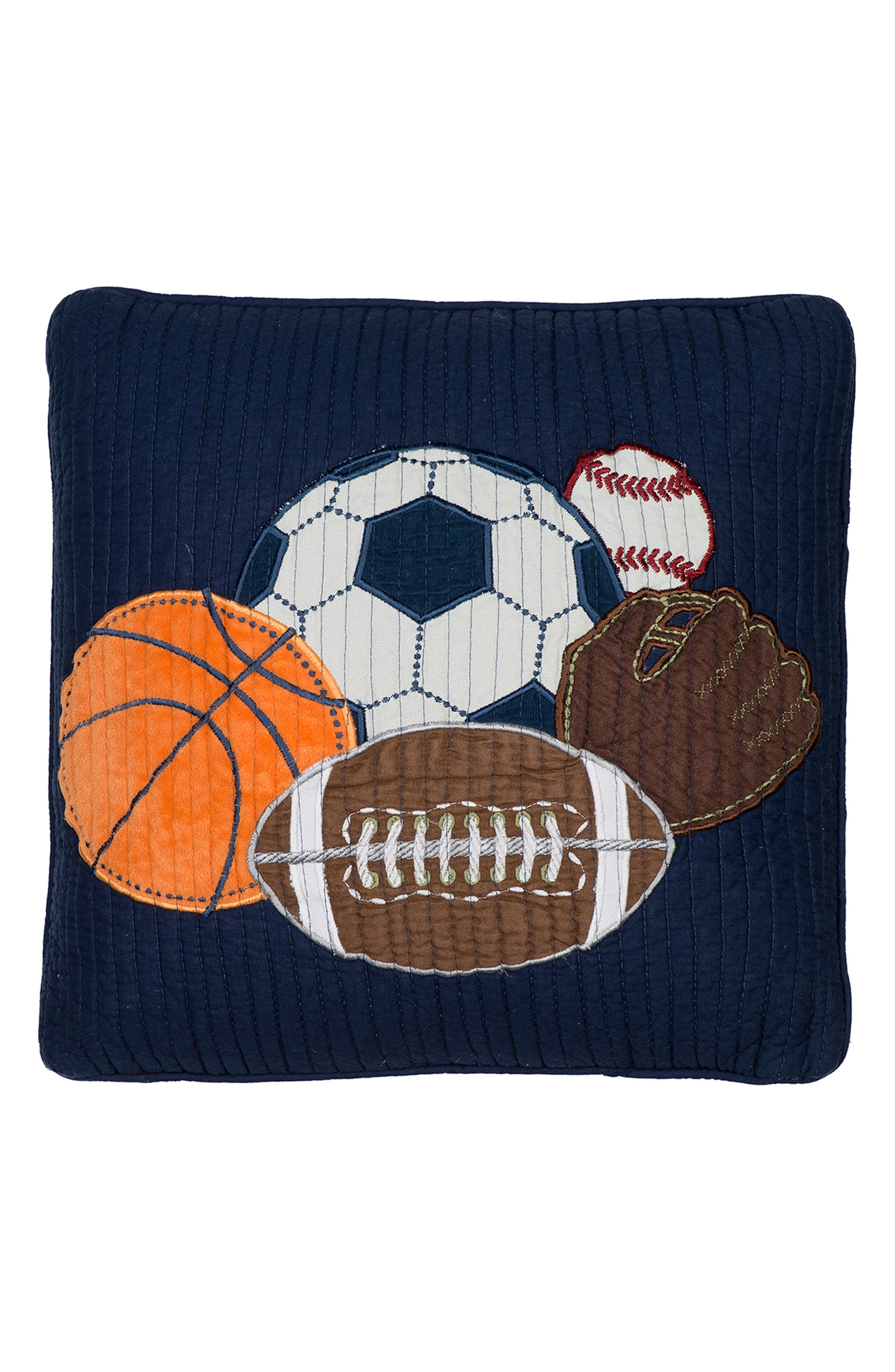 Alternate Image 1 Selected - Levtex Ivan Sports Accent Pillow