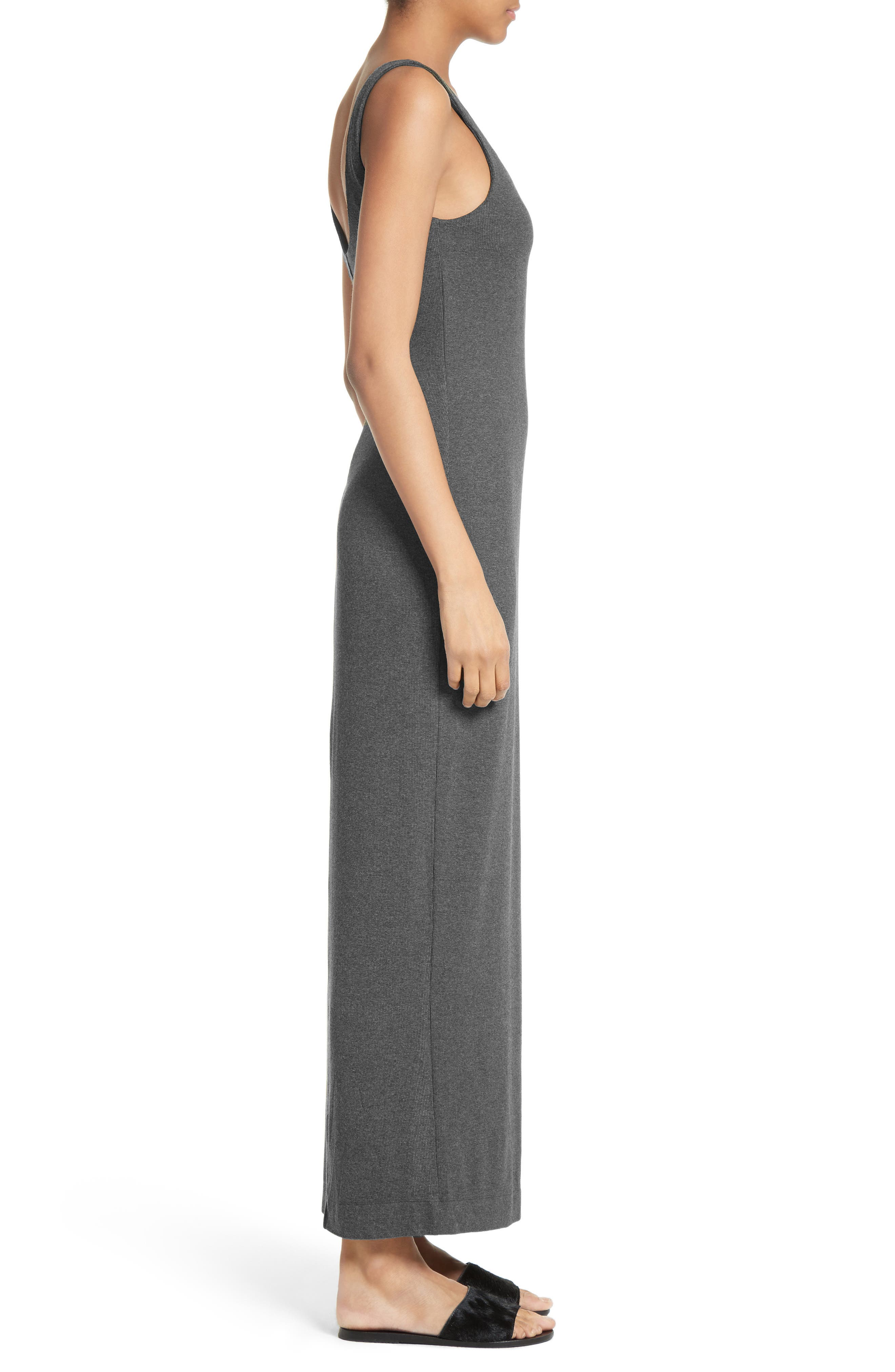 Alternate Image 3  - L'AGENCE Tank Maxi Dress