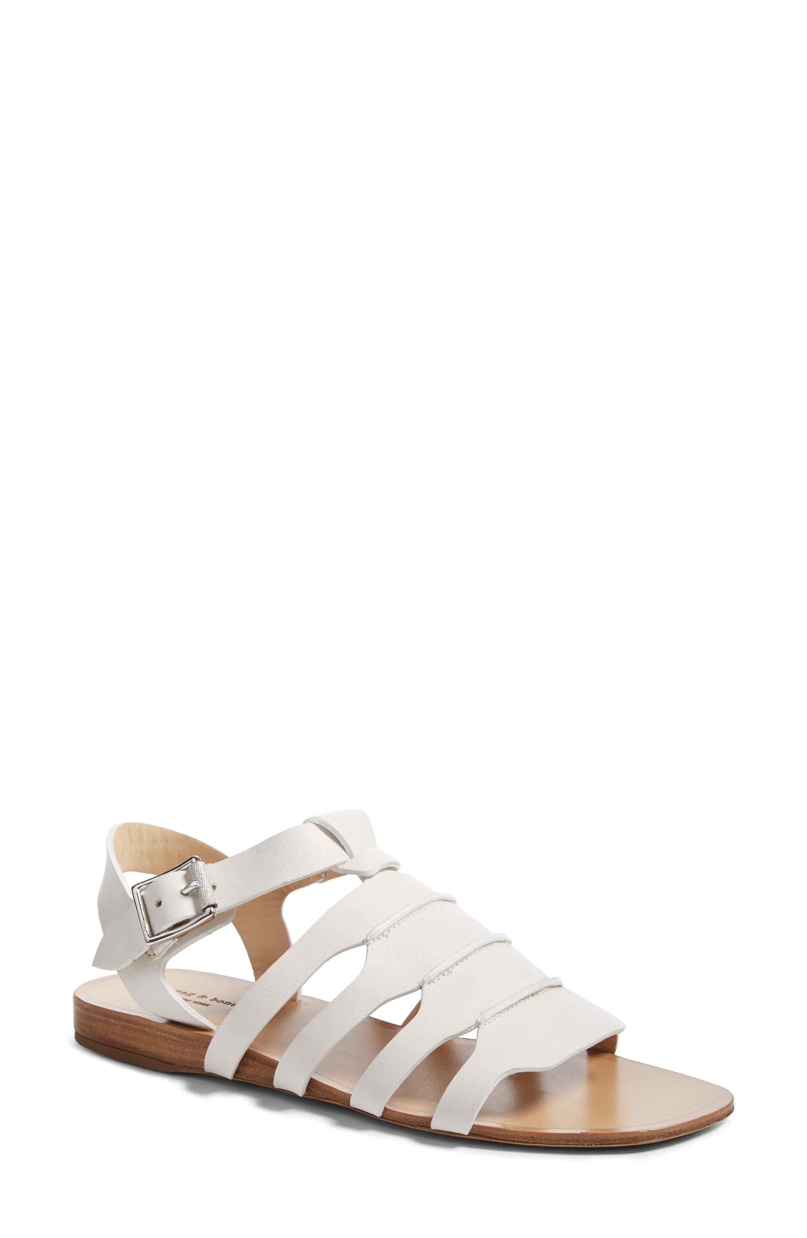 RAG & BONE Karli Low Gladiator Sandal