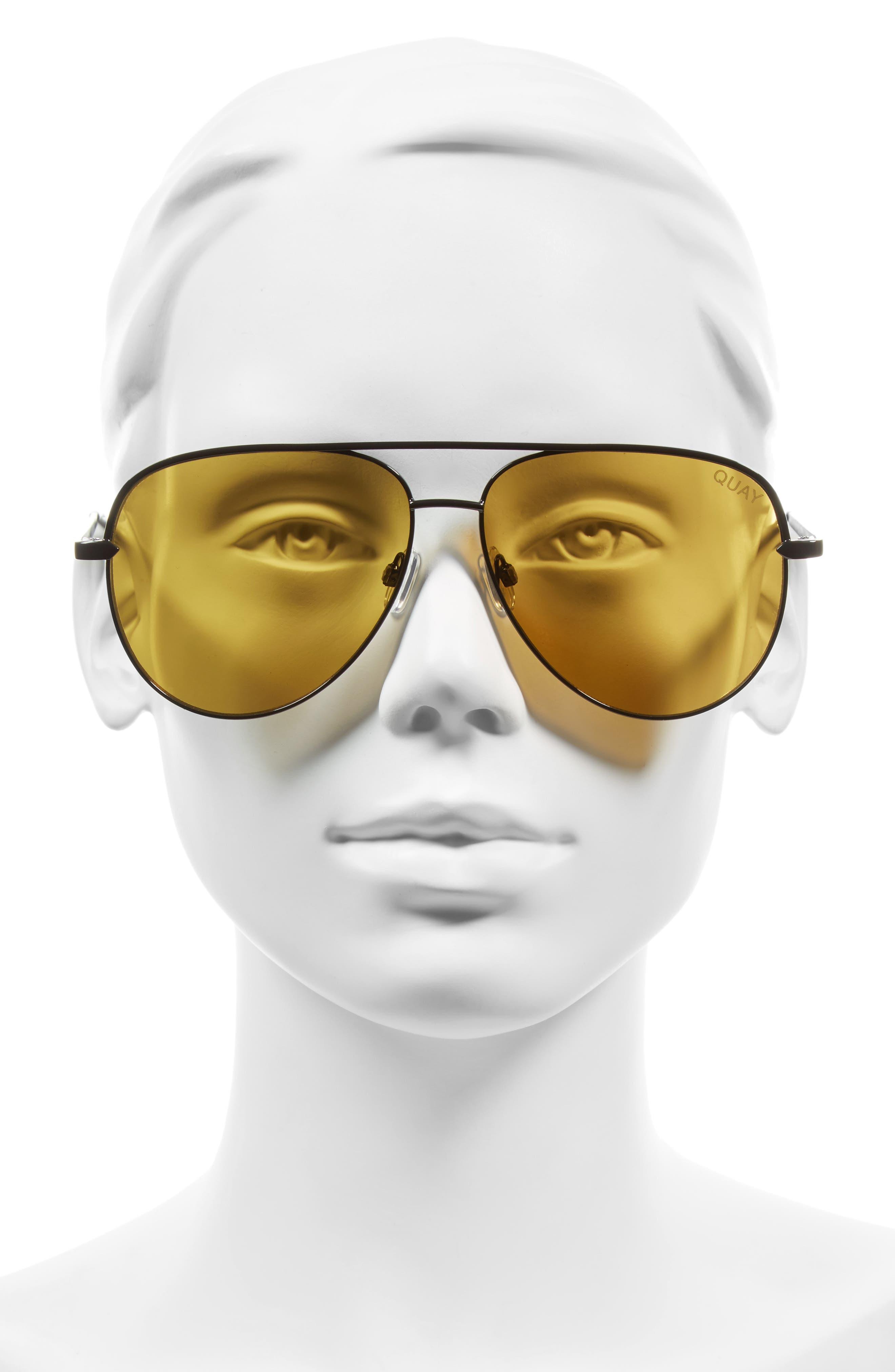 Alternate Image 4  - Quay Australia x Desi Perkins Sahara 60mm Aviator Sunglasses