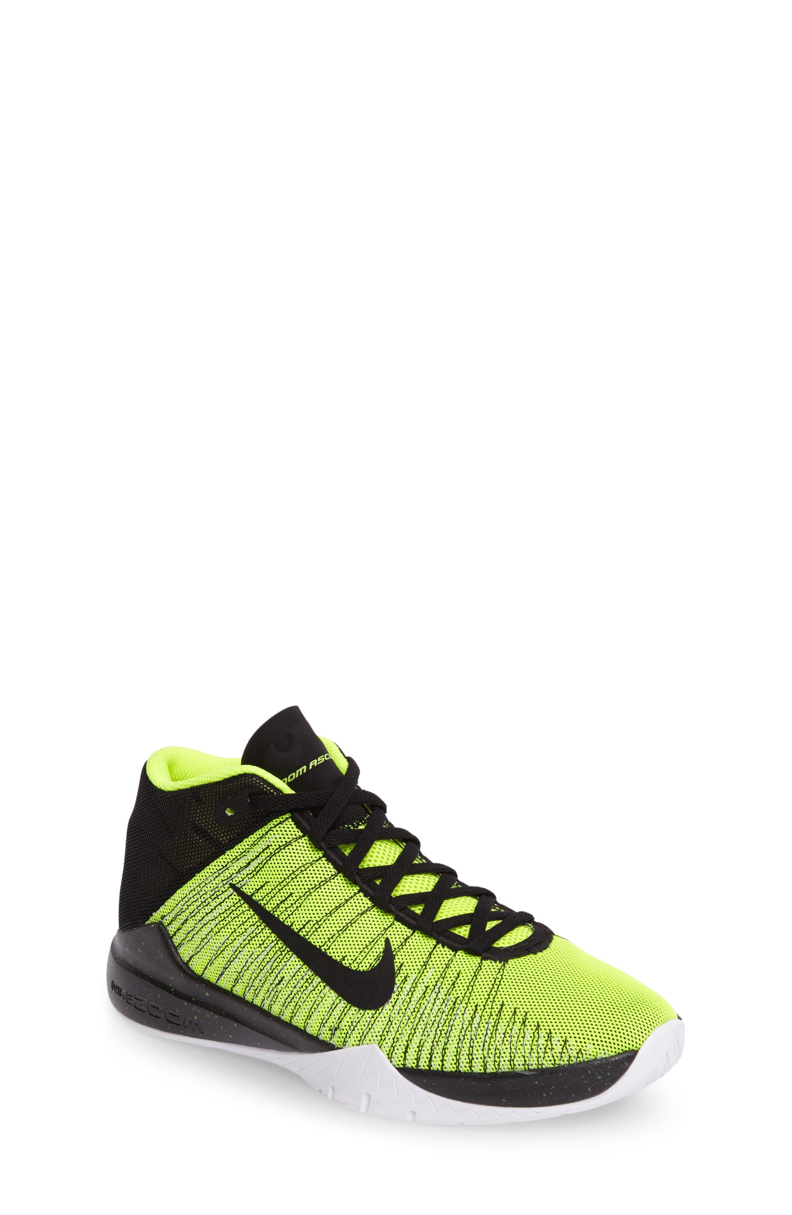 Main Image - Nike 'Zoom Ascension' High Top Basketball Shoe ...