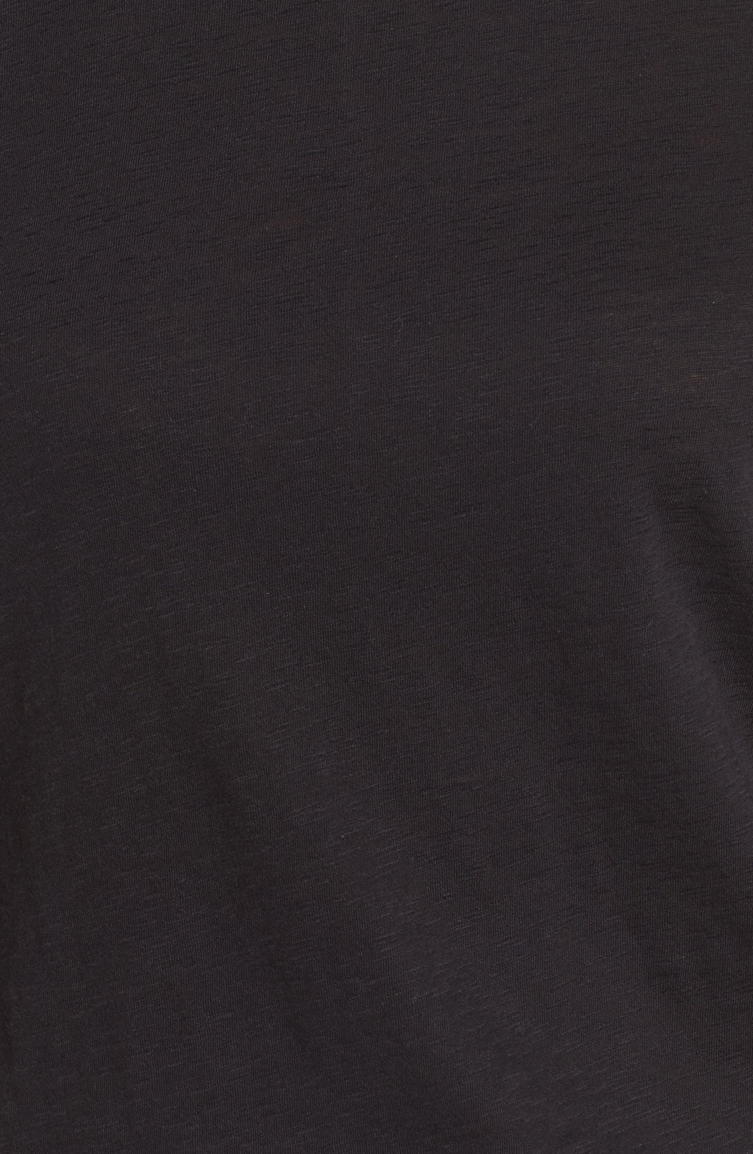 Alternate Image 5  - Caslon® Slub Crewneck Tee (Regular & Petite)