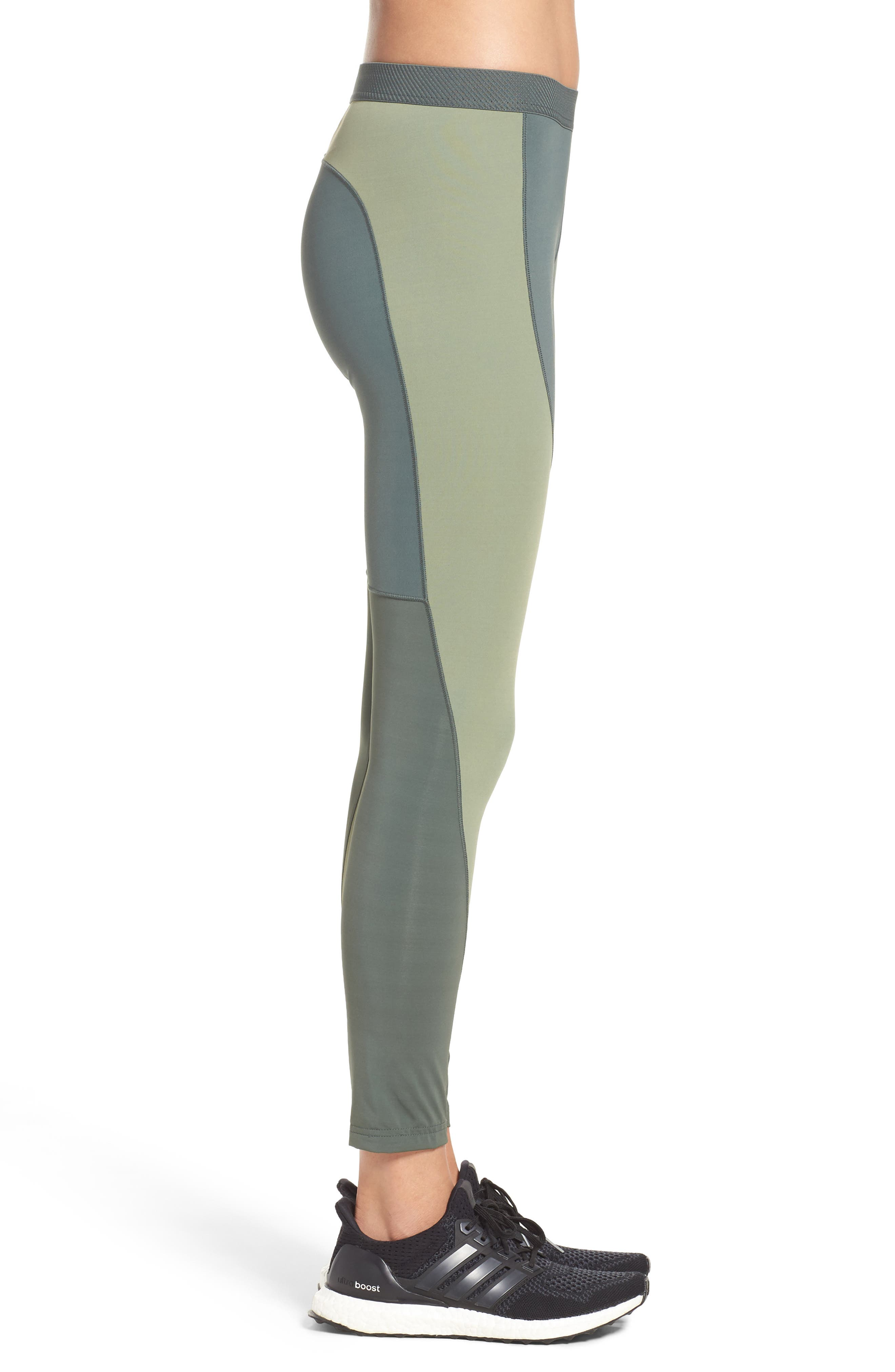 Climachill<sup>®</sup> Training Tights,                             Alternate thumbnail 3, color,                             Utility Ivy F16/ Green