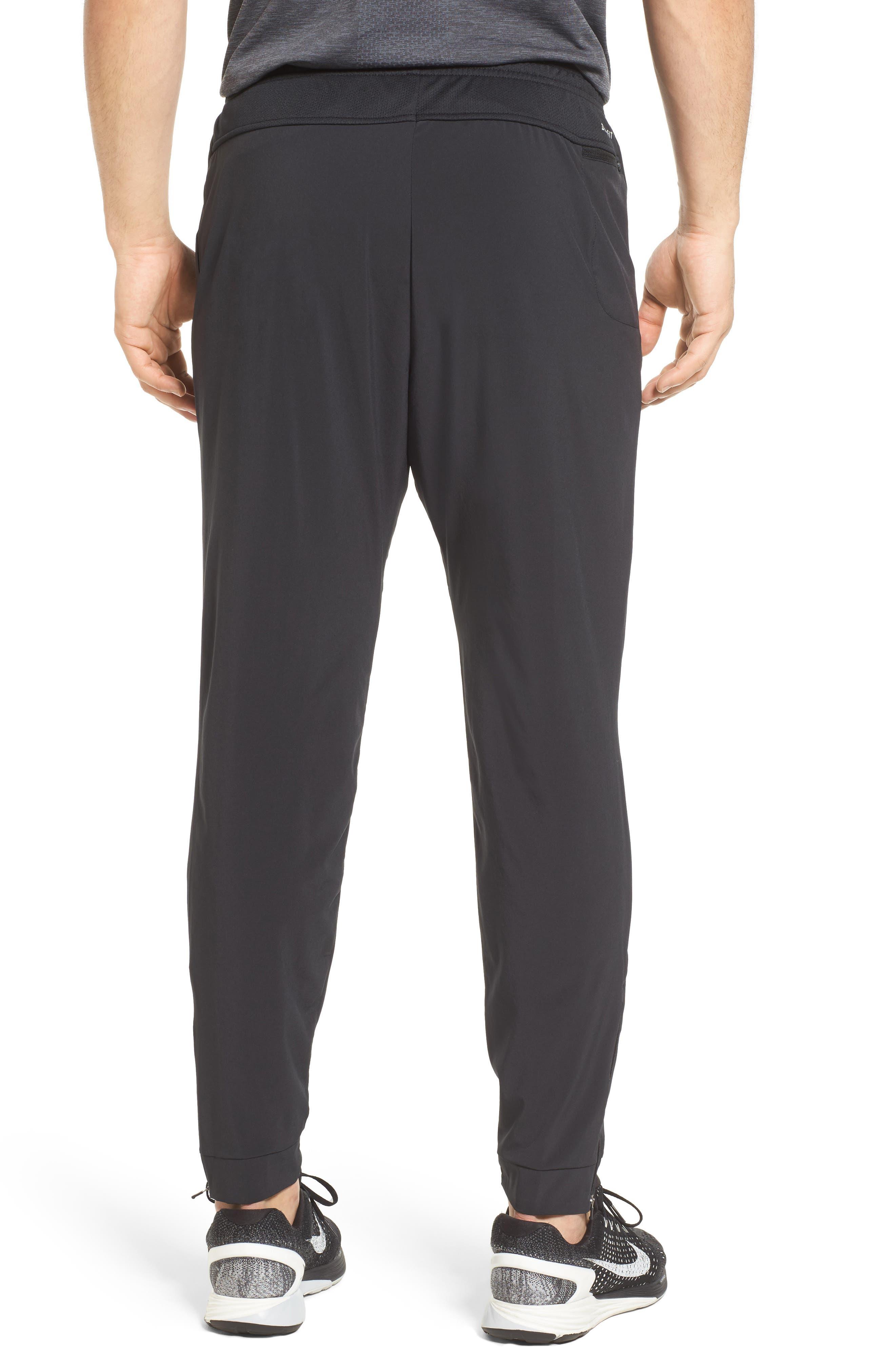 Essential Flex Running Pants,                             Alternate thumbnail 2, color,                             Black